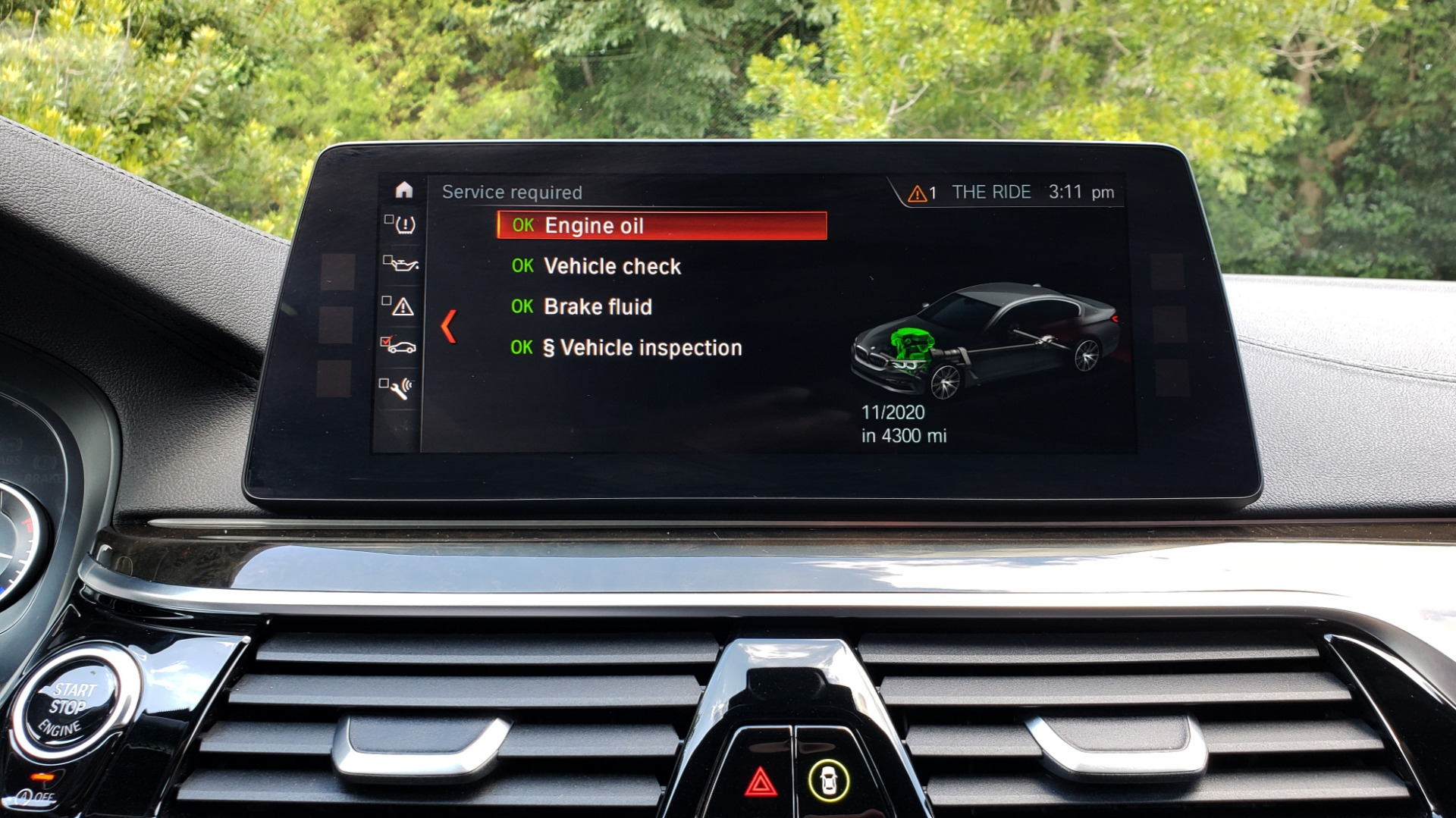 Used 2017 BMW 5 SERIES 540I XDRIVE M-SPORT / PREMIUM / NAV / HUD / SUNROOF / REARVIEW for sale $34,995 at Formula Imports in Charlotte NC 28227 44