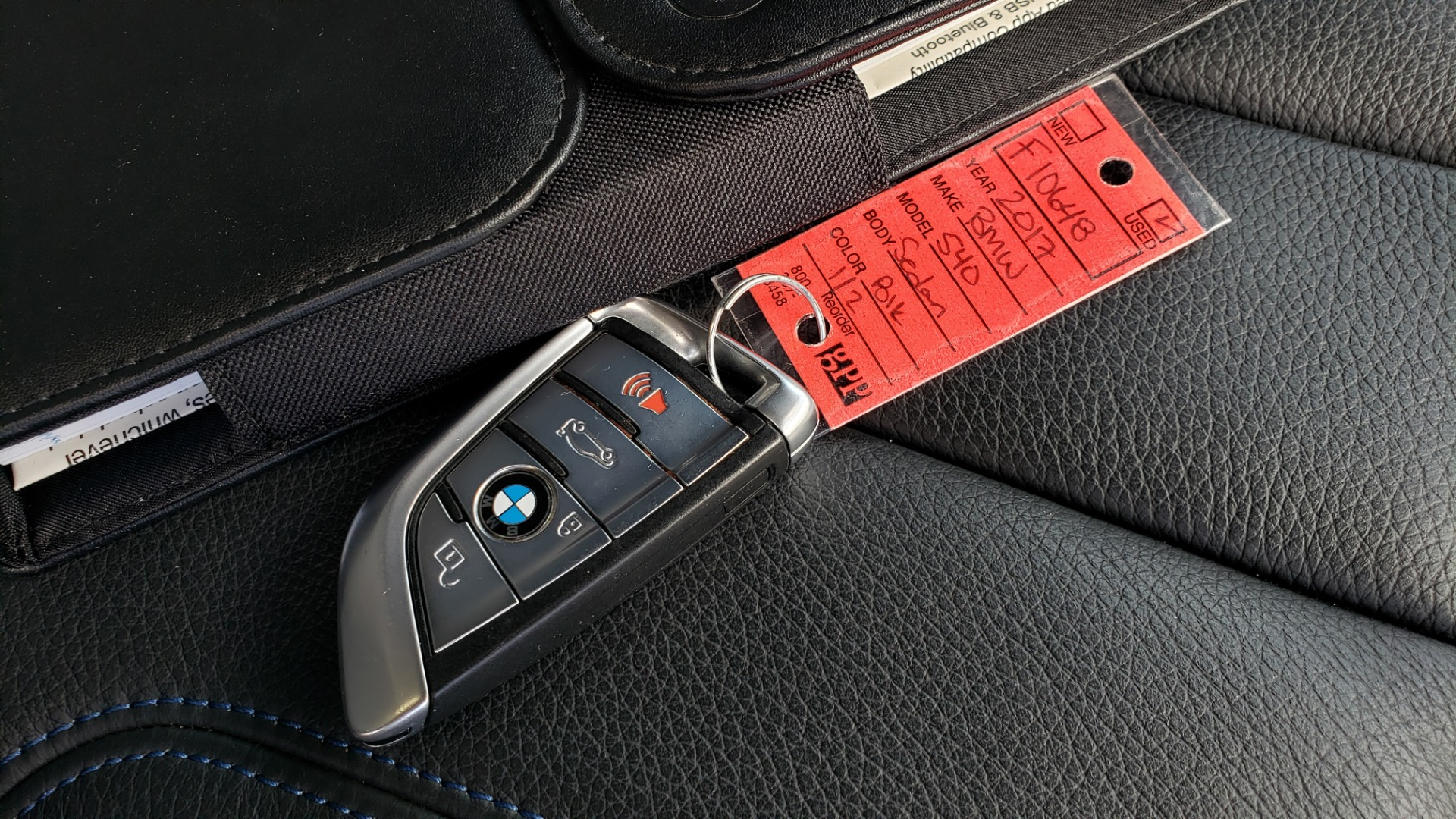 Used 2017 BMW 5 SERIES 540I XDRIVE M-SPORT / PREMIUM / NAV / HUD / SUNROOF / REARVIEW for sale $34,995 at Formula Imports in Charlotte NC 28227 91