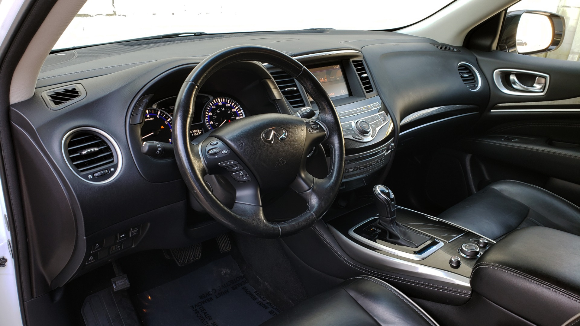 Used 2016 Infiniti QX60 AWD / 3.5L V6 / SUNROOF / HTD STS / 3-ROW / TOWING / REARVIEW for sale Sold at Formula Imports in Charlotte NC 28227 40