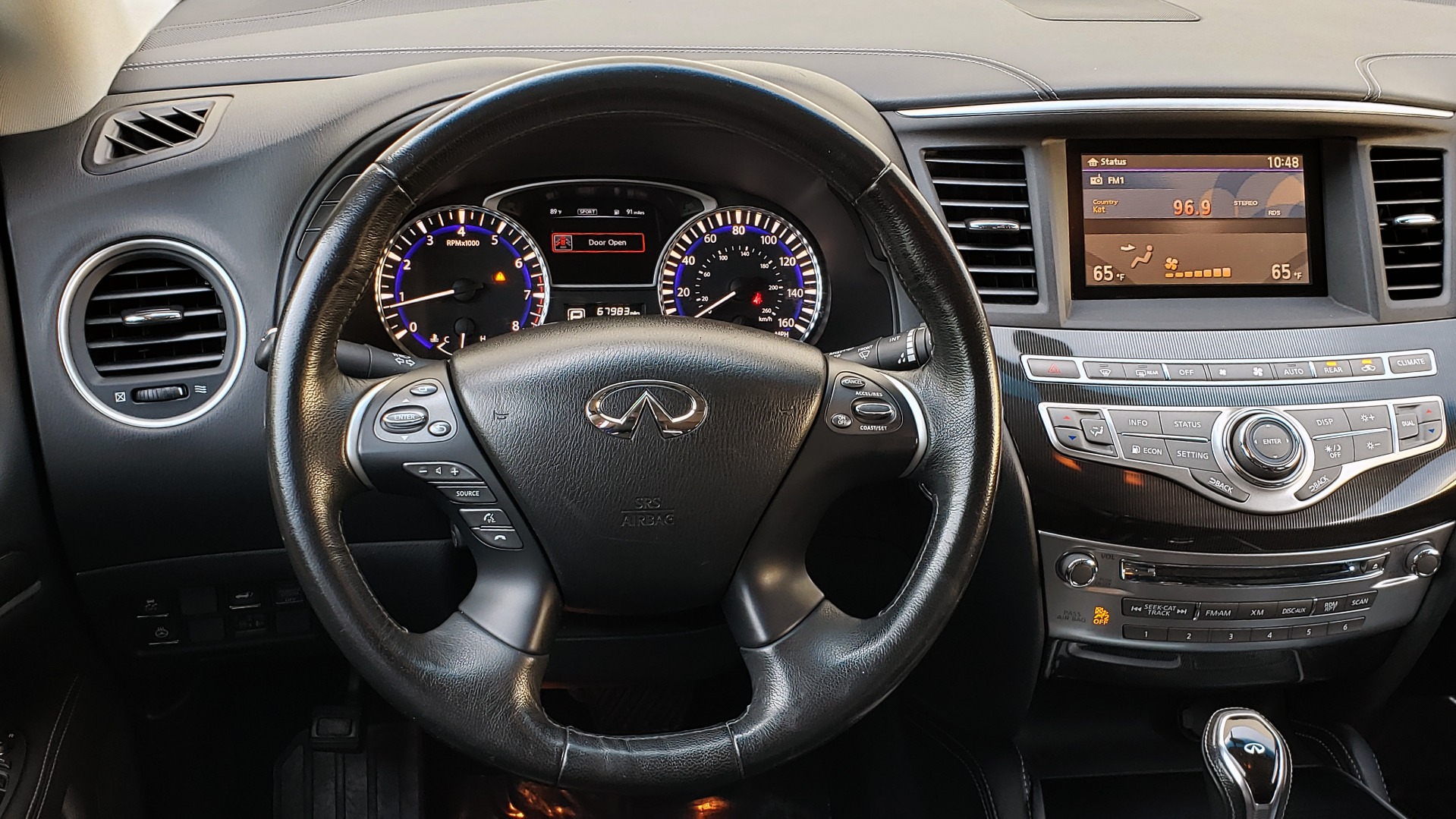 Used 2016 Infiniti QX60 AWD / 3.5L V6 / SUNROOF / HTD STS / 3-ROW / TOWING / REARVIEW for sale Sold at Formula Imports in Charlotte NC 28227 41