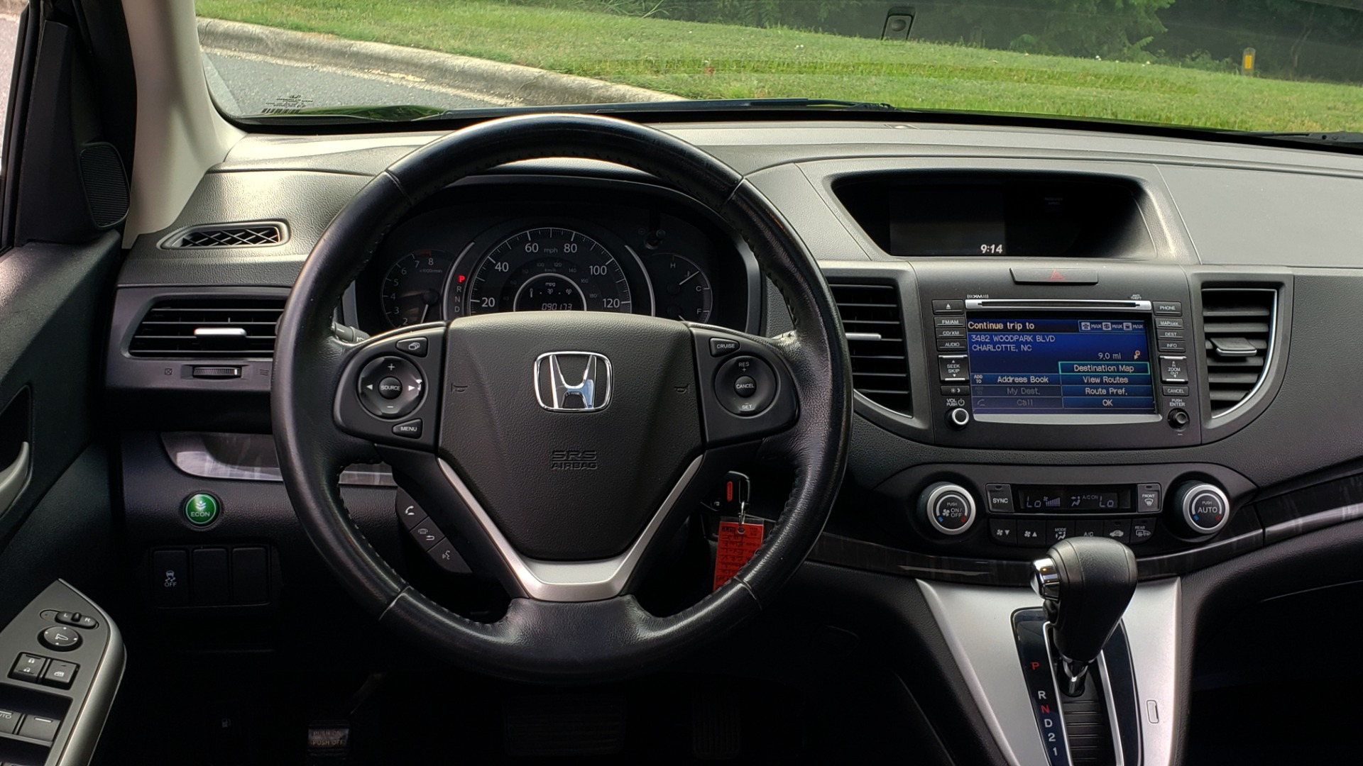 Used 2012 Honda CR-V EX-L / AWD / 5DR / SUNROOF / HEATED SEATS / REARVIEW for sale Sold at Formula Imports in Charlotte NC 28227 33