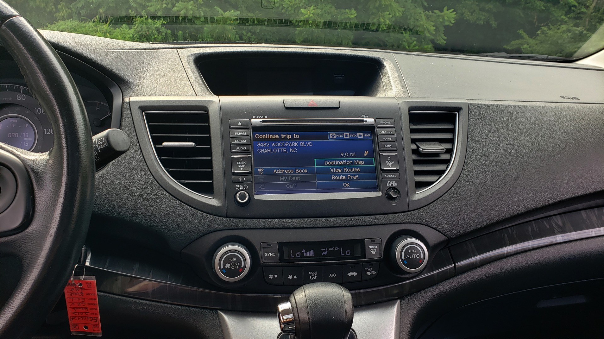 Used 2012 Honda CR-V EX-L / AWD / 5DR / SUNROOF / HEATED SEATS / REARVIEW for sale Sold at Formula Imports in Charlotte NC 28227 38