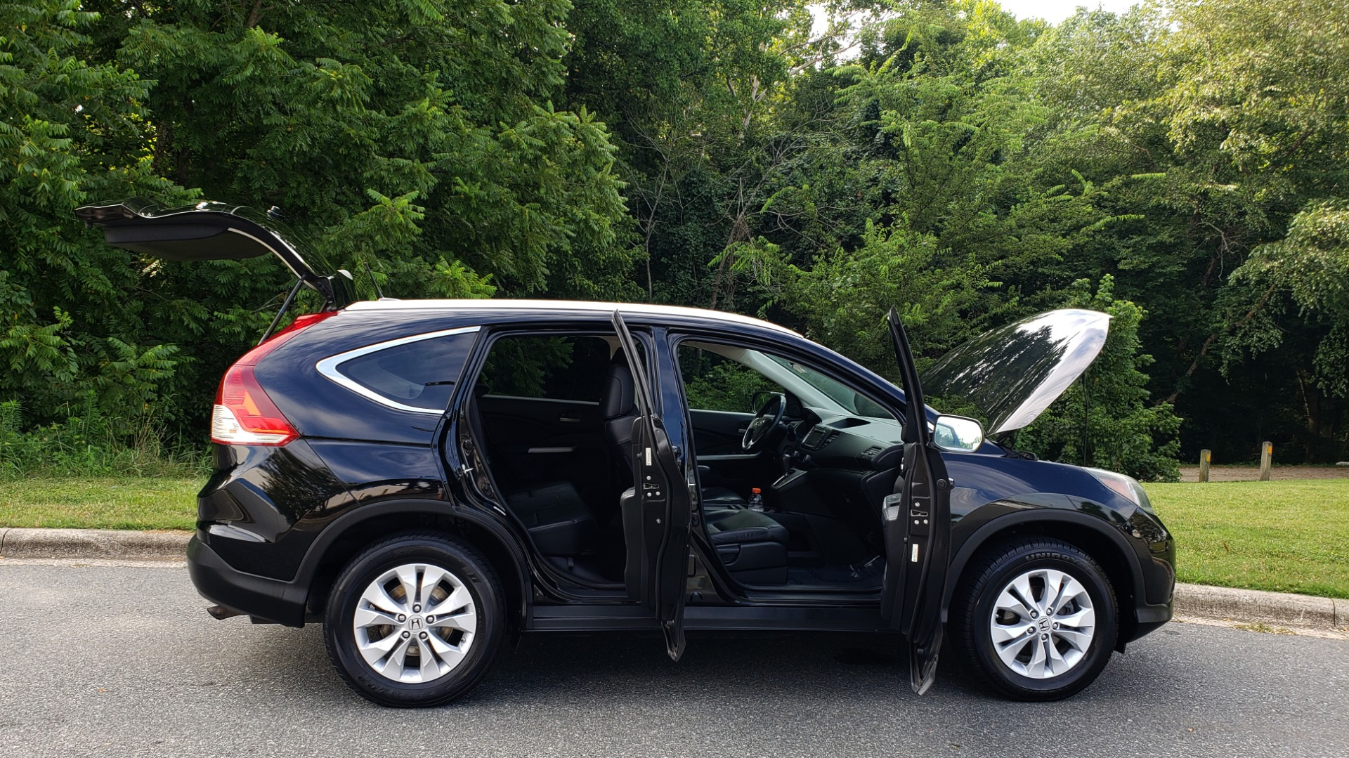 Used 2012 Honda CR-V EX-L / AWD / 5DR / SUNROOF / HEATED SEATS / REARVIEW for sale Sold at Formula Imports in Charlotte NC 28227 9