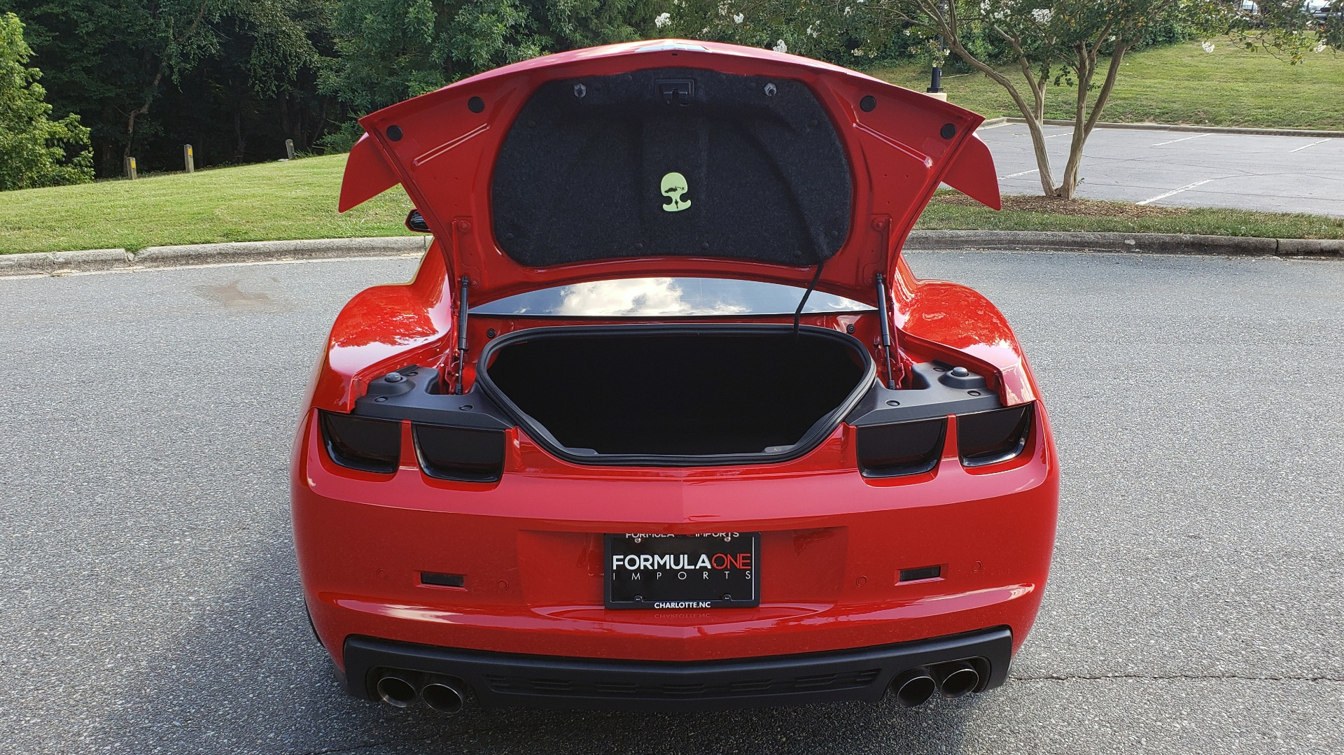 Used 2013 Chevrolet CAMARO ZL1 580HP / AUTO / NAV / BOSTON ACOUSTIC SND / REARVIEW for sale $40,995 at Formula Imports in Charlotte NC 28227 27