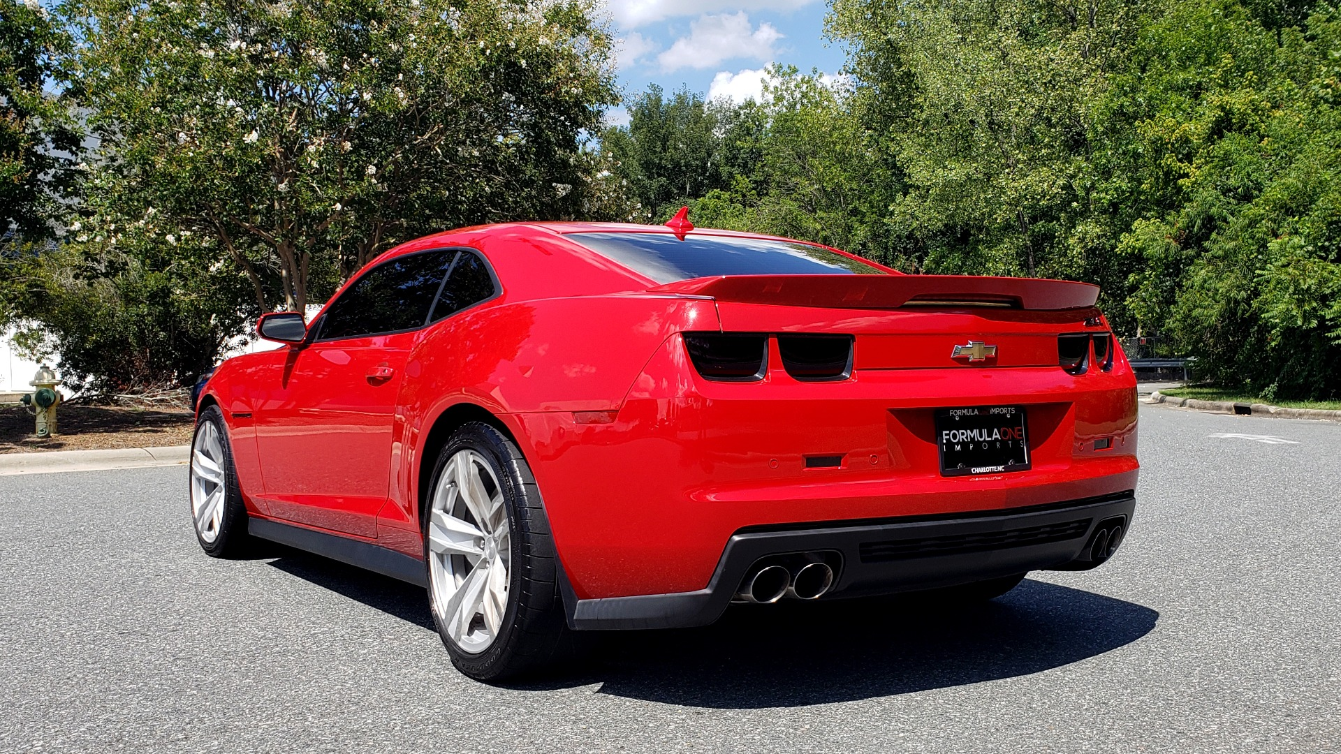 Used 2013 Chevrolet CAMARO ZL1 / 6.2L SUPERCHARGED 580HP / 6-SPD AUTO / NAV / REARVIEW for sale Sold at Formula Imports in Charlotte NC 28227 4