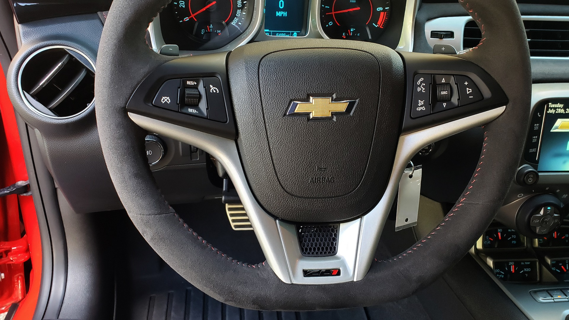 Used 2013 Chevrolet CAMARO ZL1 580HP / AUTO / NAV / BOSTON ACOUSTIC SND / REARVIEW for sale $40,995 at Formula Imports in Charlotte NC 28227 49