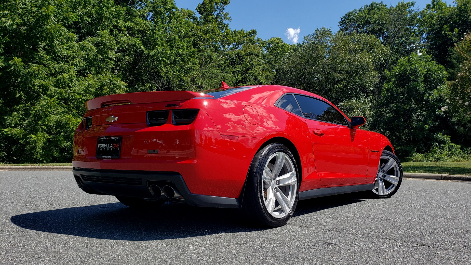 Used 2013 Chevrolet CAMARO ZL1 580HP / AUTO / NAV / BOSTON ACOUSTIC SND / REARVIEW for sale $40,995 at Formula Imports in Charlotte NC 28227 7