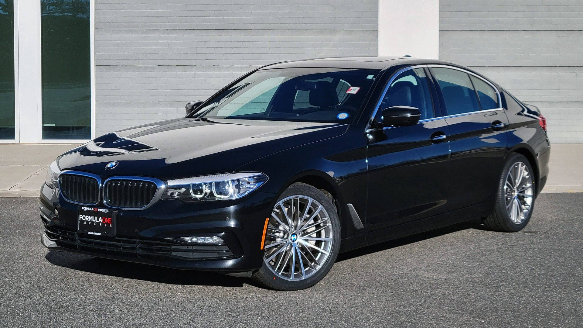 Used 2017 BMW 5 SERIES 530I XDRIVE PREMIUM / NAV / SUNROOF / PARK ASST / CLOD WTHR / REARVIEW for sale Sold at Formula Imports in Charlotte NC 28227 1