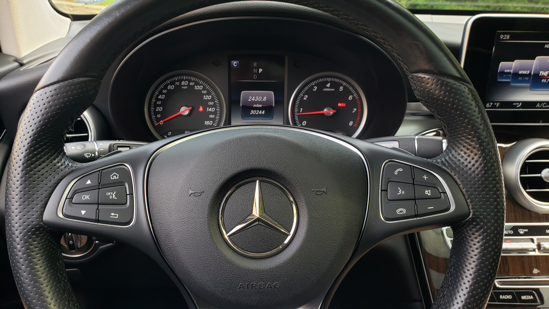 Used 2016 Mercedes-Benz GLC 300 / PANO-ROOF / HEATED SEATS / REARVIEW / NEW TIRES for sale Sold at Formula Imports in Charlotte NC 28227 40