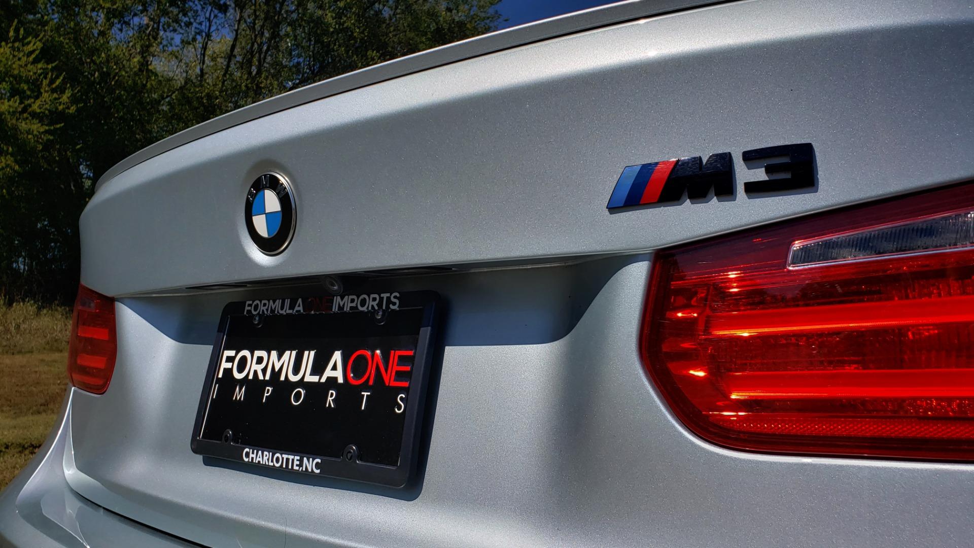 Used 2015 BMW M3 EXECUTIVE PKG / NAV / CAMERA / HUD / CARBON FIBER ROOF for sale Sold at Formula Imports in Charlotte NC 28227 18