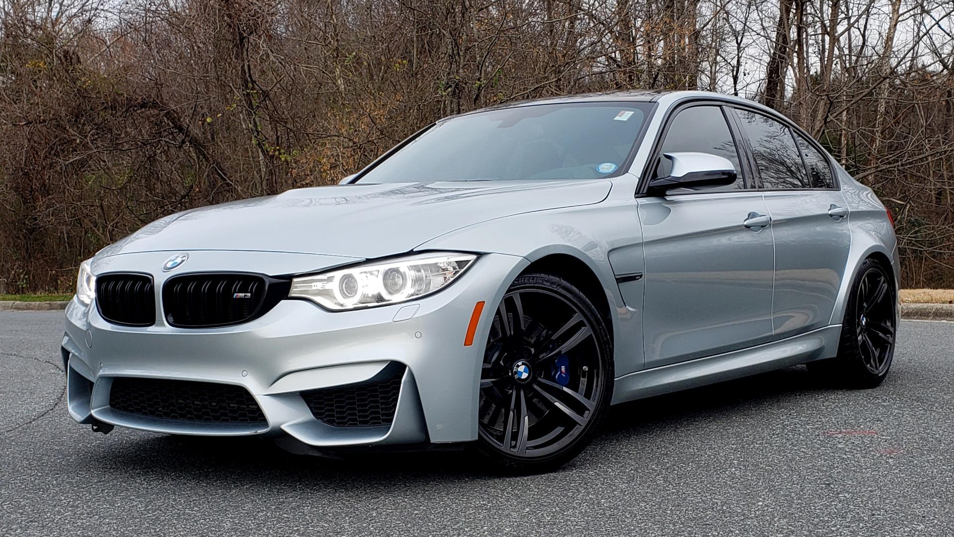 Used 2015 BMW M3 EXECUTIVE PKG / NAV / CAMERA / HUD / CARBON FIBER ROOF for sale Sold at Formula Imports in Charlotte NC 28227 20