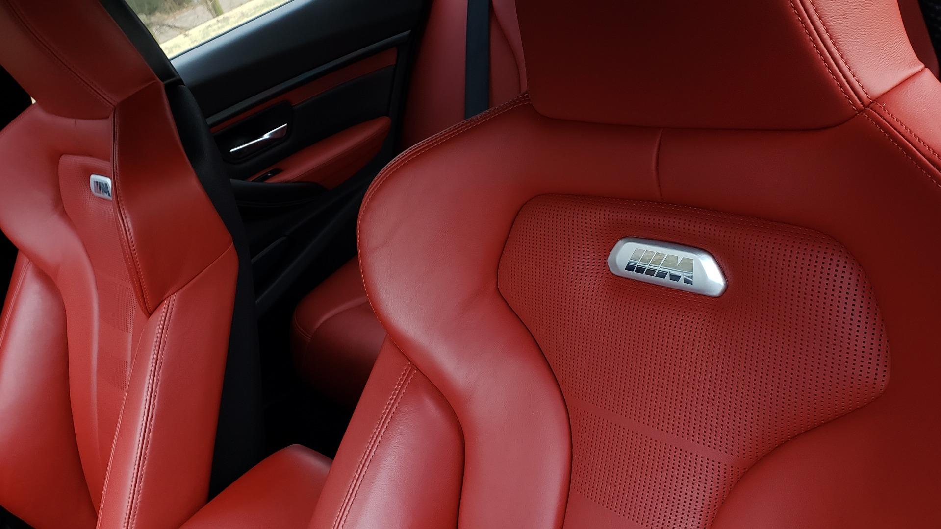 Used 2015 BMW M3 EXECUTIVE PKG / NAV / CAMERA / HUD / CARBON FIBER ROOF for sale Sold at Formula Imports in Charlotte NC 28227 53