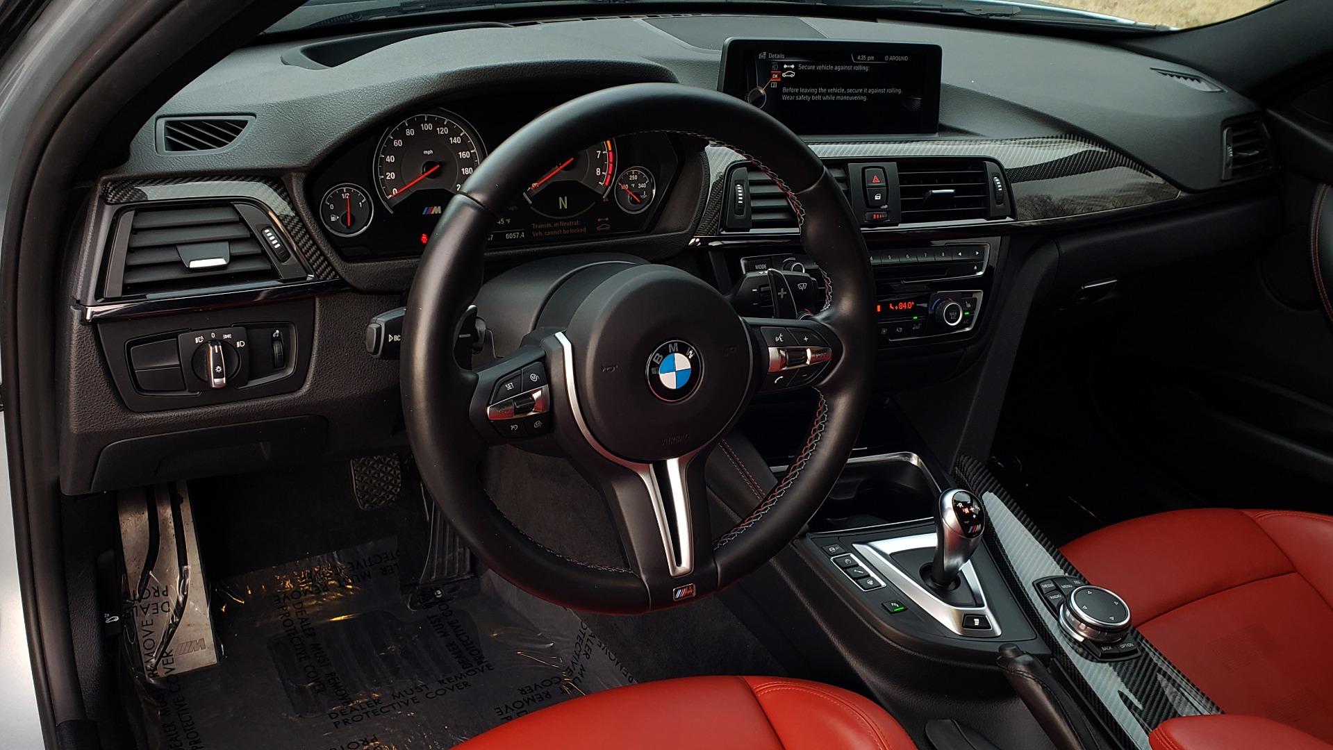 Used 2015 BMW M3 EXECUTIVE PKG / NAV / CAMERA / HUD / CARBON FIBER ROOF for sale Sold at Formula Imports in Charlotte NC 28227 54
