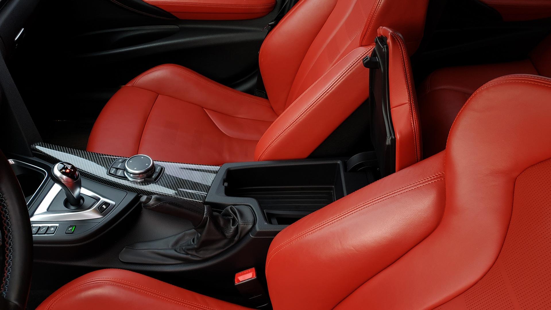 Used 2015 BMW M3 EXECUTIVE PKG / NAV / CAMERA / HUD / CARBON FIBER ROOF for sale Sold at Formula Imports in Charlotte NC 28227 69