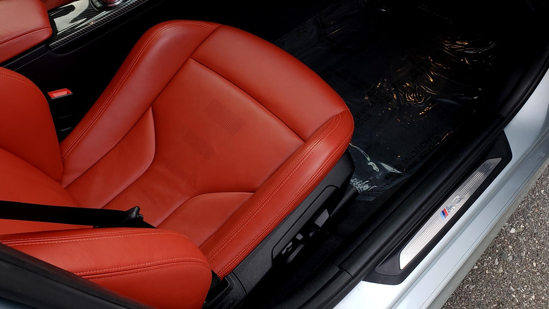 Used 2015 BMW M3 EXECUTIVE PKG / NAV / CAMERA / HUD / CARBON FIBER ROOF for sale Sold at Formula Imports in Charlotte NC 28227 77