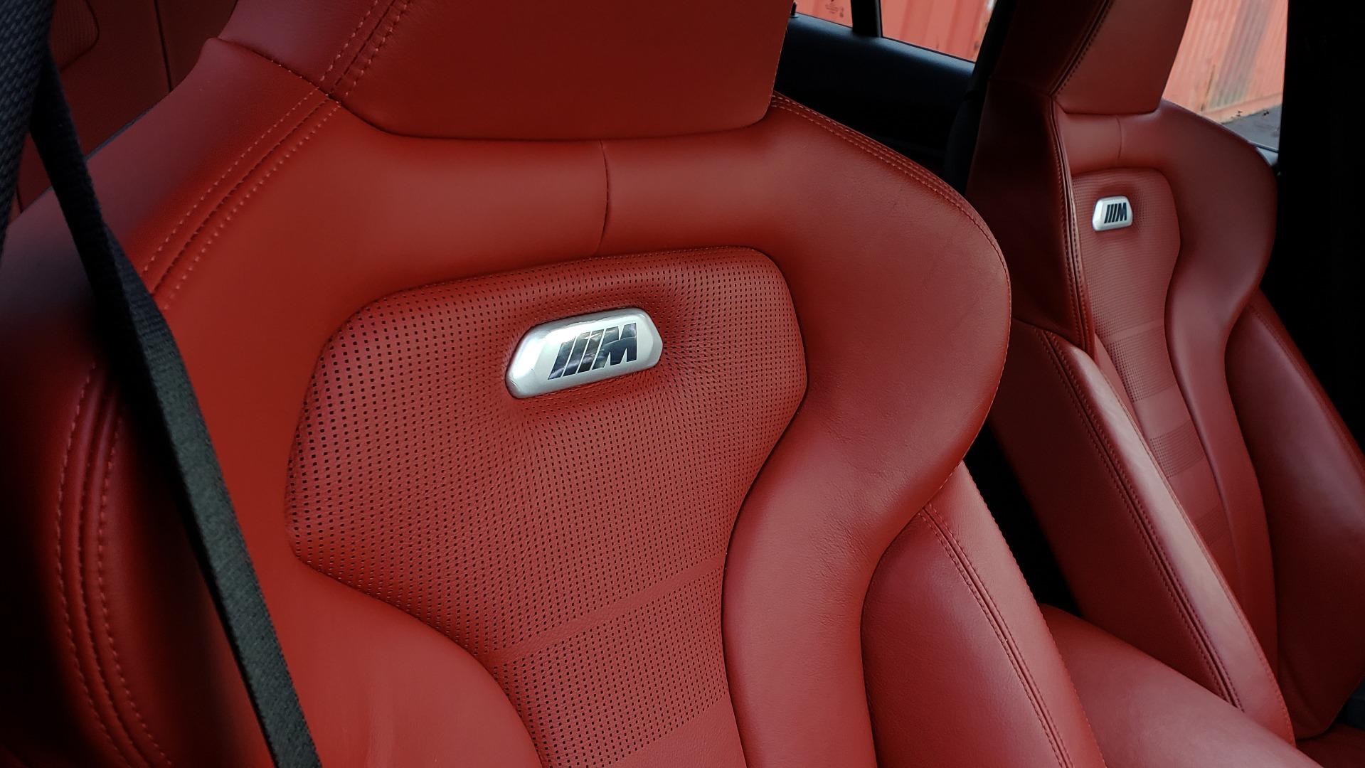 Used 2015 BMW M3 EXECUTIVE PKG / NAV / CAMERA / HUD / CARBON FIBER ROOF for sale Sold at Formula Imports in Charlotte NC 28227 79