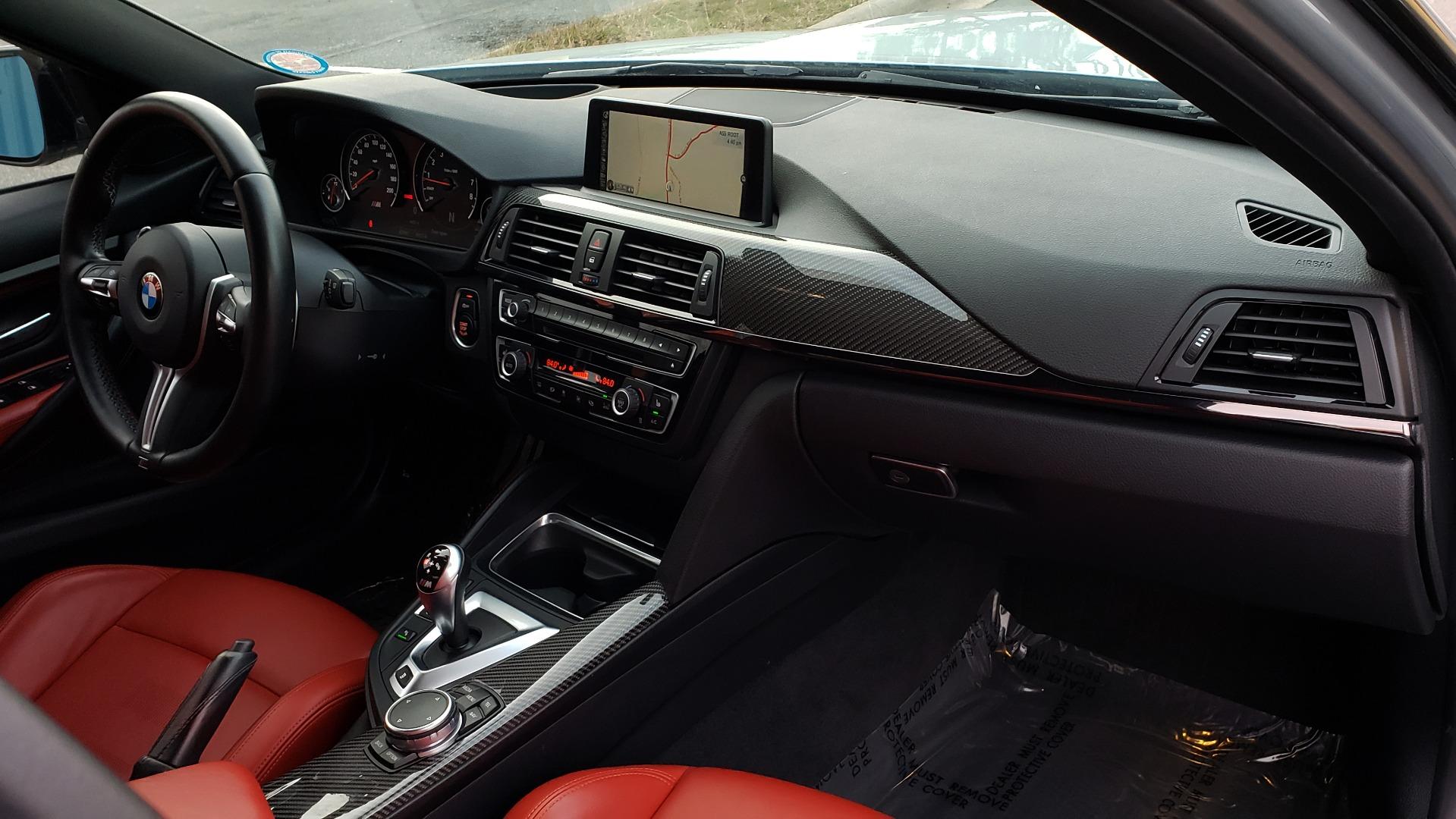 Used 2015 BMW M3 EXECUTIVE PKG / NAV / CAMERA / HUD / CARBON FIBER ROOF for sale Sold at Formula Imports in Charlotte NC 28227 80