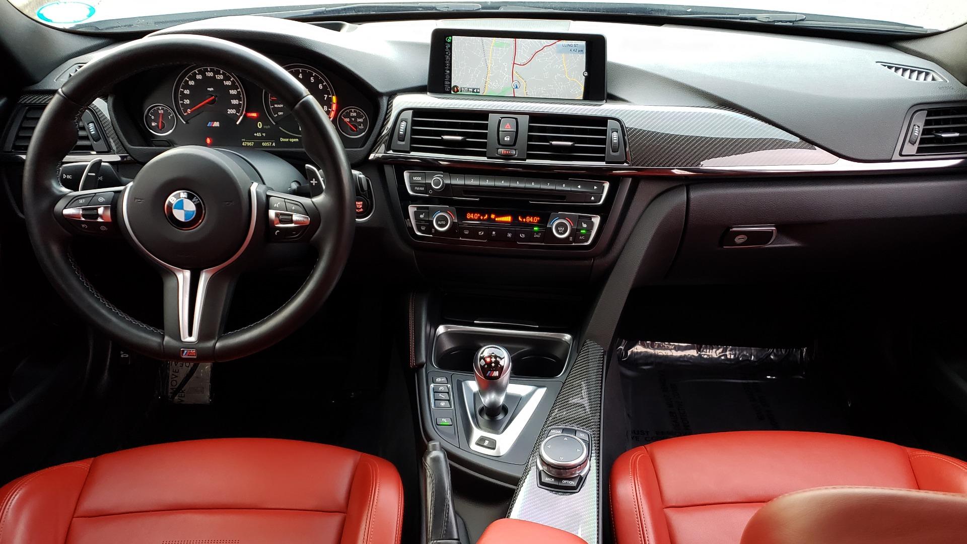 Used 2015 BMW M3 EXECUTIVE PKG / NAV / CAMERA / HUD / CARBON FIBER ROOF for sale Sold at Formula Imports in Charlotte NC 28227 87