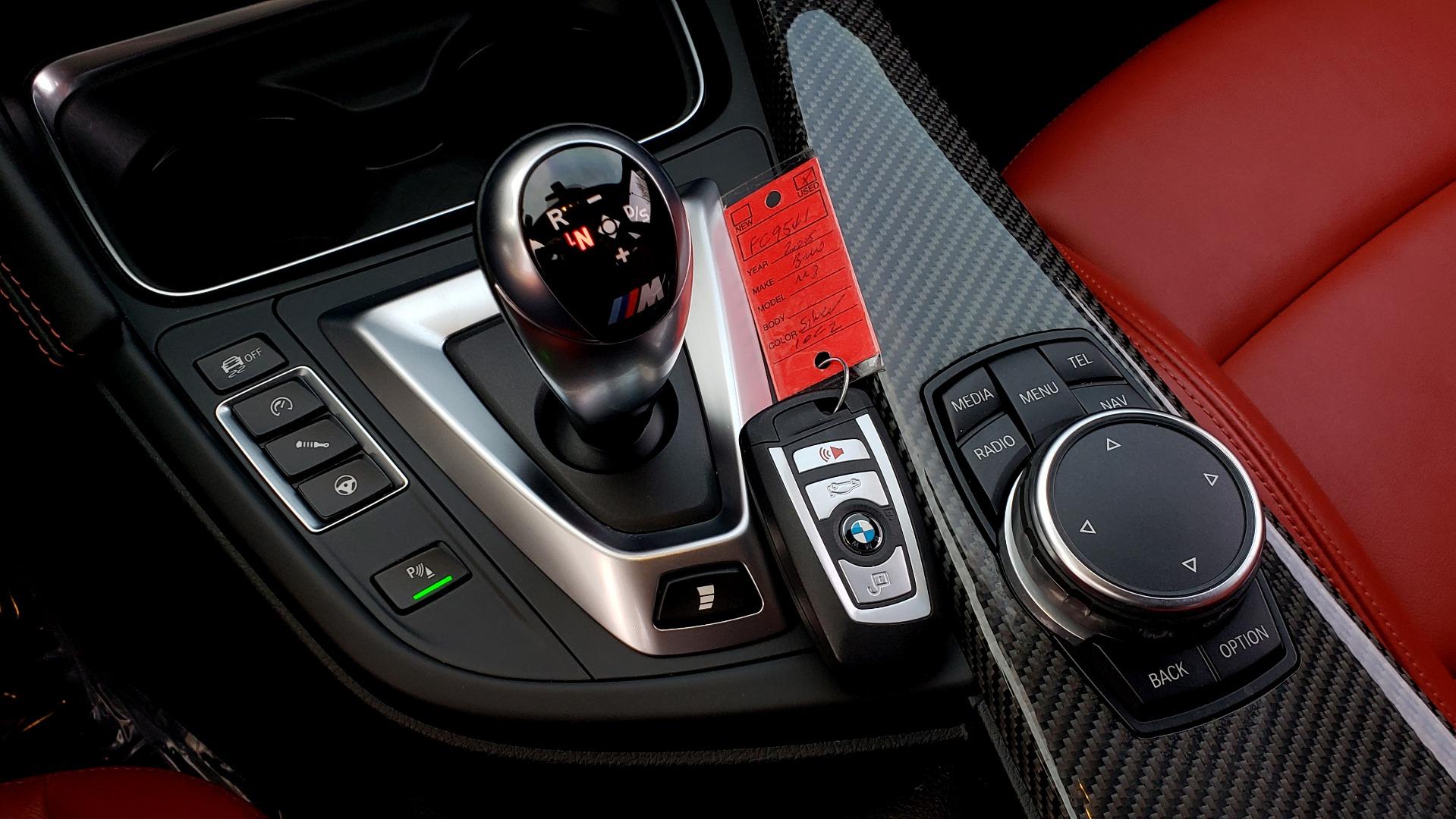 Used 2015 BMW M3 EXECUTIVE PKG / NAV / CAMERA / HUD / CARBON FIBER ROOF for sale Sold at Formula Imports in Charlotte NC 28227 89