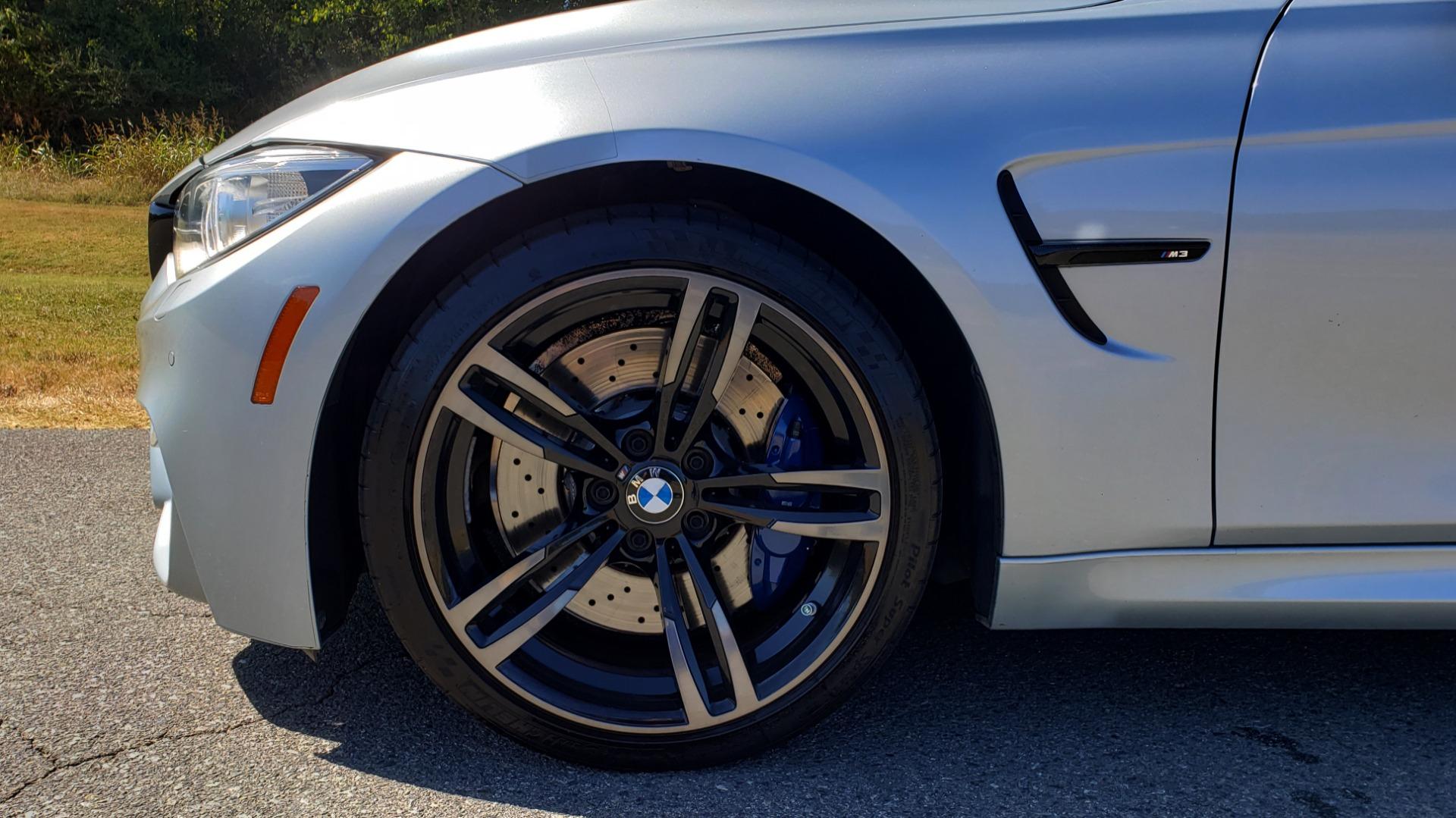 Used 2015 BMW M3 EXECUTIVE PKG / NAV / CAMERA / HUD / CARBON FIBER ROOF for sale Sold at Formula Imports in Charlotte NC 28227 91