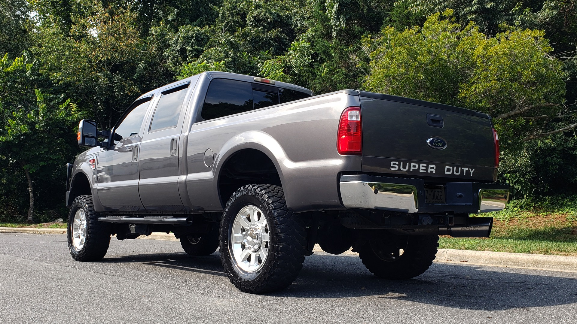 Used 2008 Ford Super Duty F-250 SRW Lariat for sale Sold at Formula Imports in Charlotte NC 28227 4