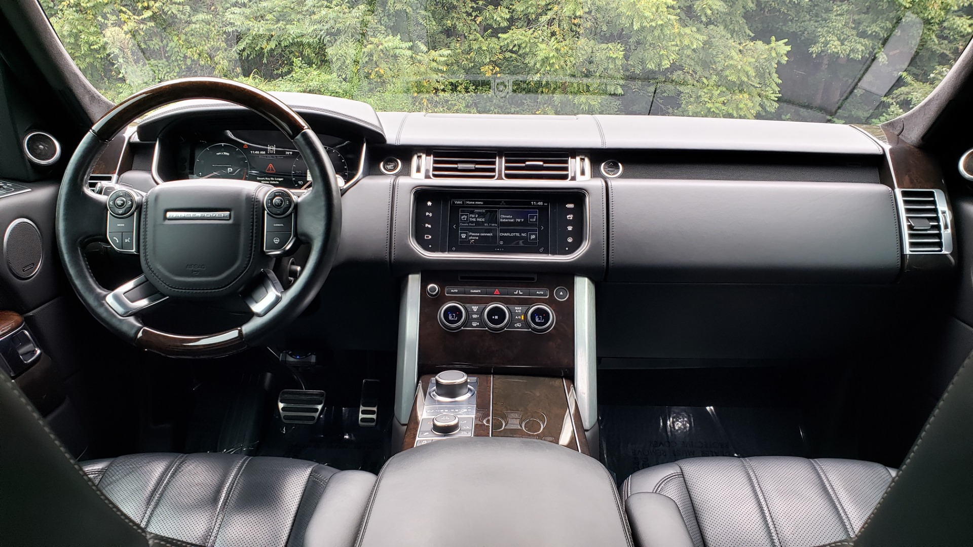 Used 2016 Land Rover RANGE ROVER AUTOBIOGRAPHY / SC-V8 / LWB / PANO-ROOF / NAV / MERIDIAN / ENT / REARVIEW for sale Sold at Formula Imports in Charlotte NC 28227 99