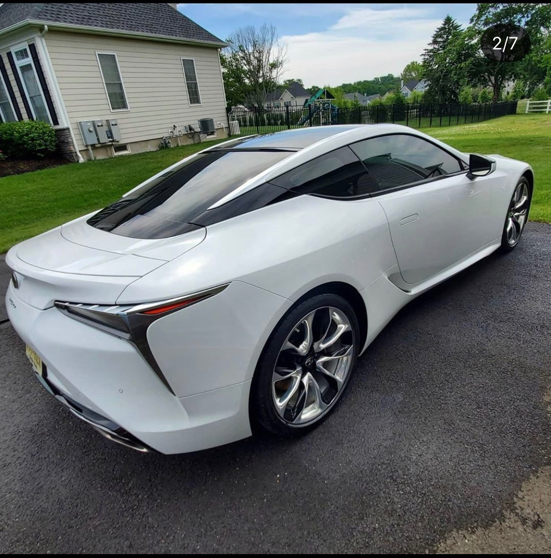 Used 2018 Lexus LC LC 500 for sale Sold at Formula Imports in Charlotte NC 28227 2