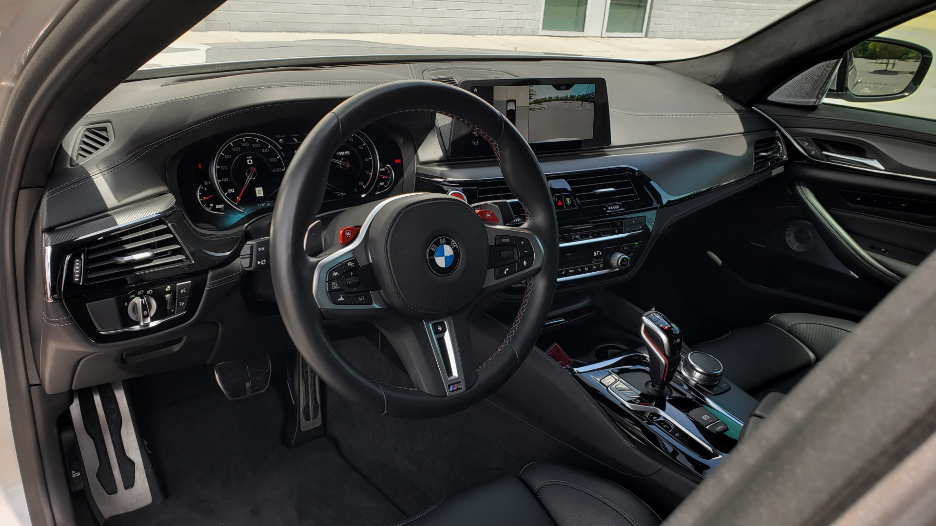 Used 2018 BMW M5 SEDAN / EXEC PKG / DRVR ASST PLUS / MOONROOF / B&W SND for sale $81,495 at Formula Imports in Charlotte NC 28227 33