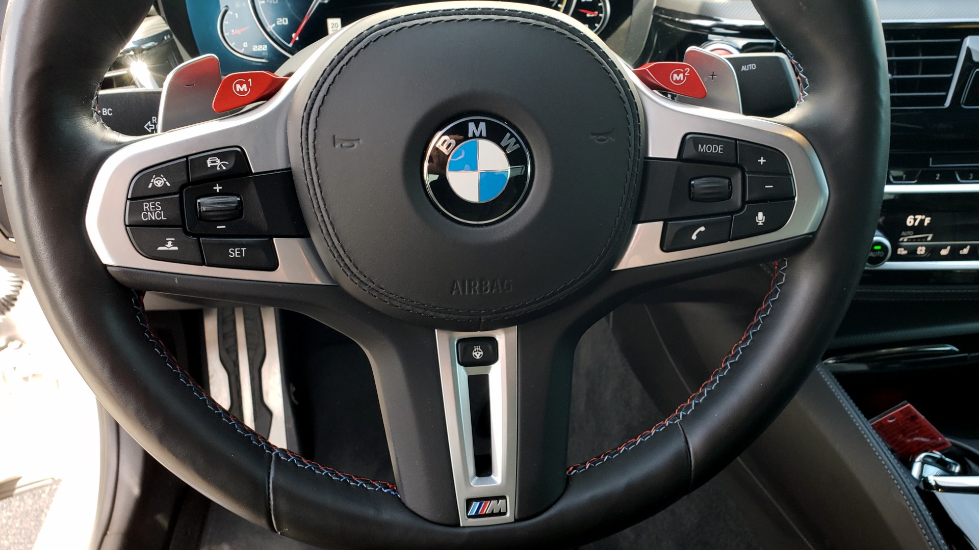 Used 2018 BMW M5 for sale Sold at Formula Imports in Charlotte NC 28227 34
