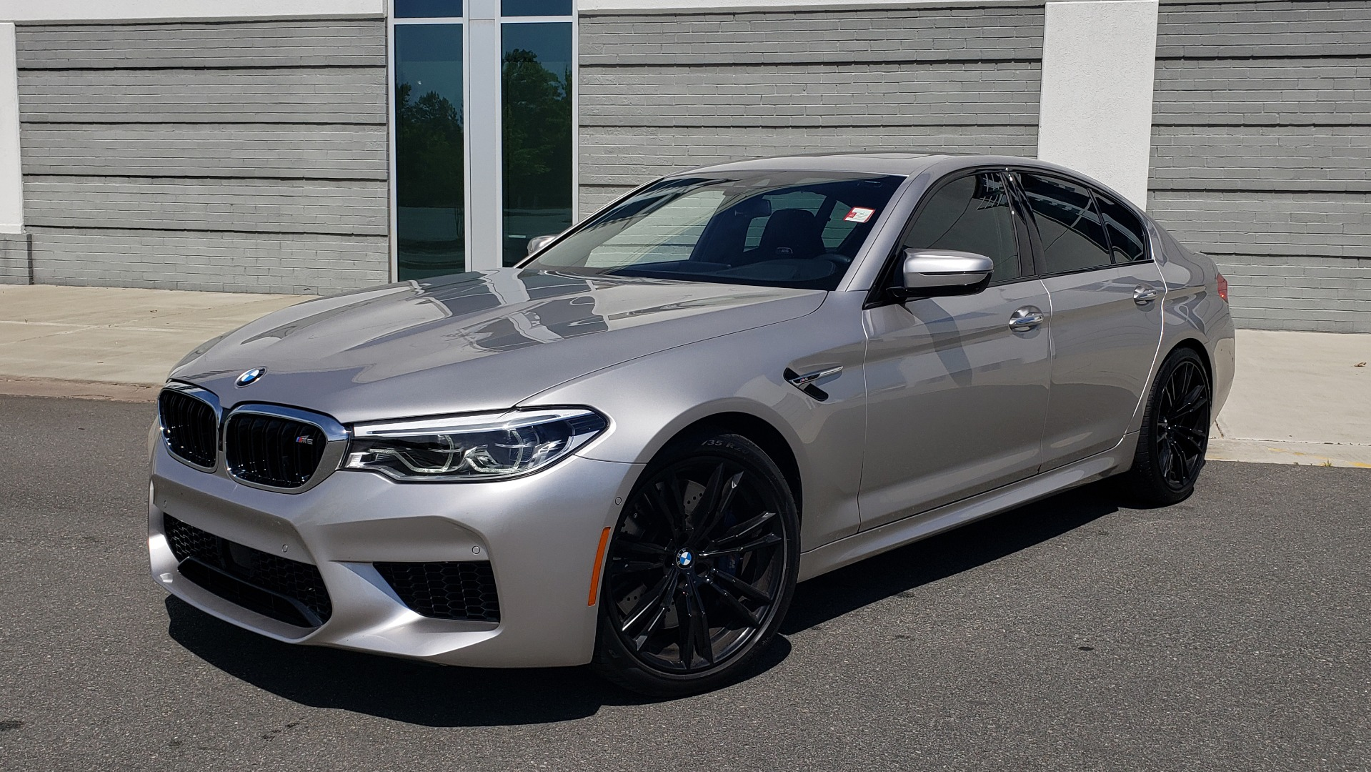 Used 2018 BMW M5 for sale Sold at Formula Imports in Charlotte NC 28227 1