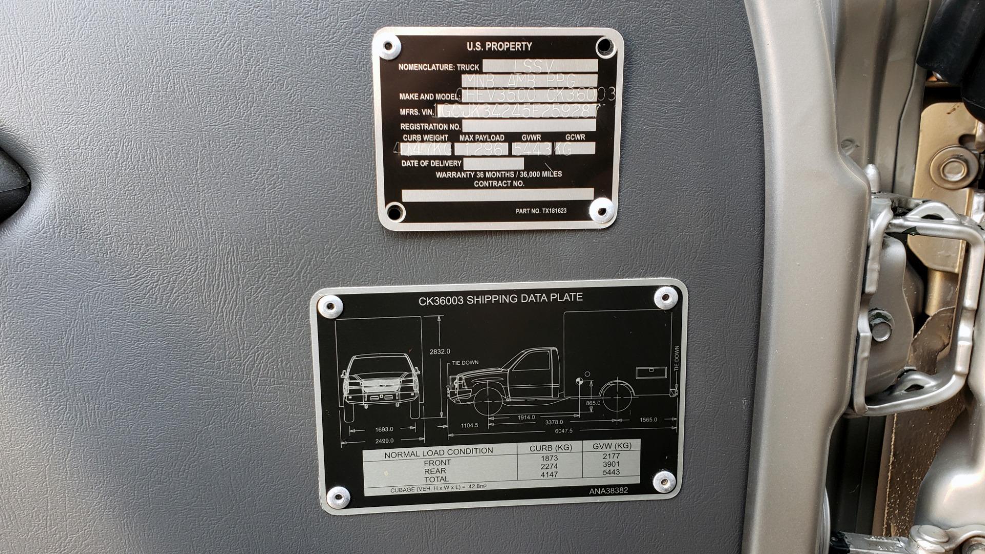 Used 2005 Chevrolet SILVERADO 3500 DRW / 4WD / REG CAB / 6.6L DURAMAX / DOOMSDAY PREPPER for sale $21,499 at Formula Imports in Charlotte NC 28227 10