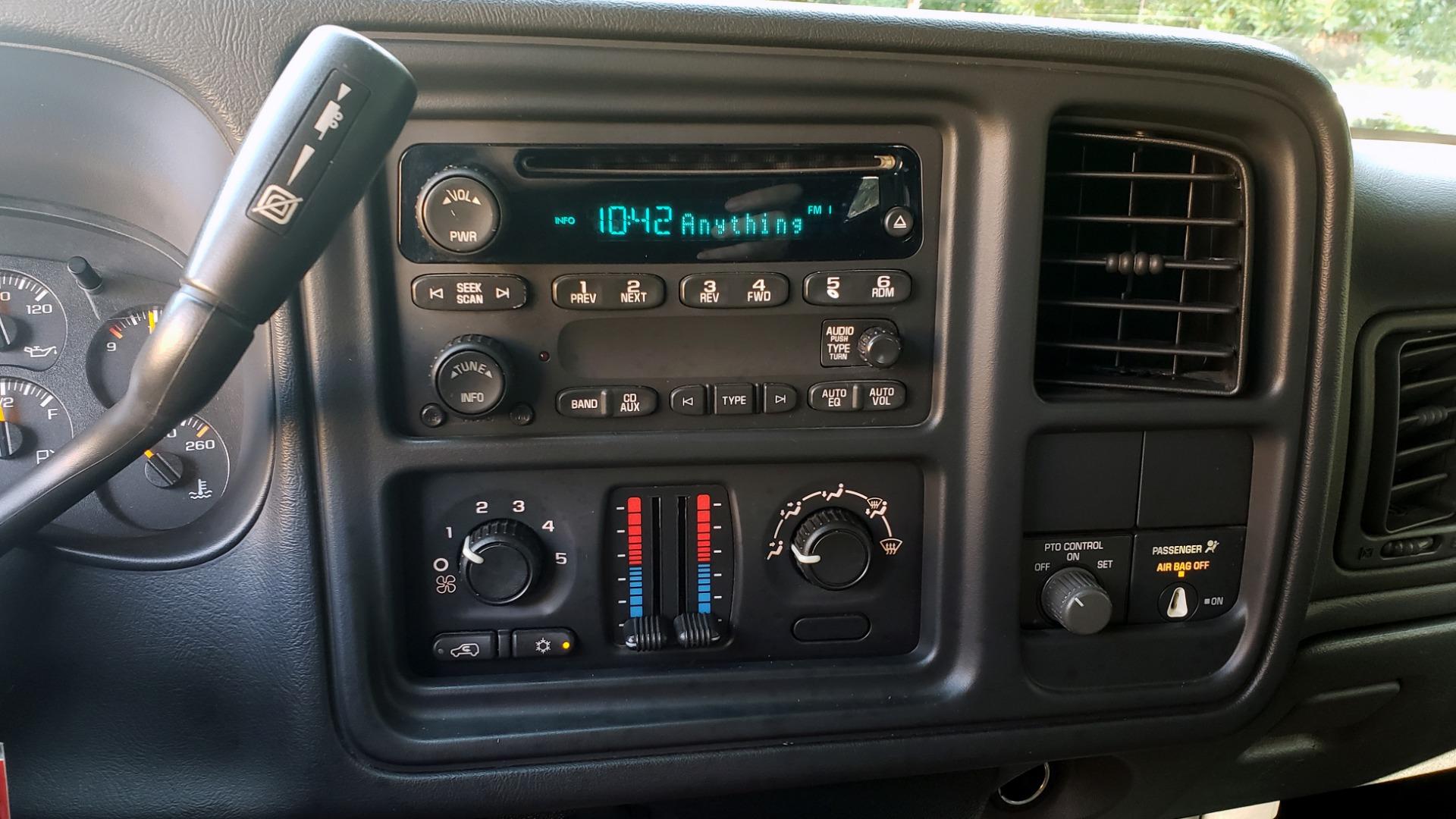 Used 2005 Chevrolet SILVERADO 3500 DRW / 4WD / REG CAB / 6.6L DURAMAX / DOOMSDAY PREPPER for sale $21,499 at Formula Imports in Charlotte NC 28227 18