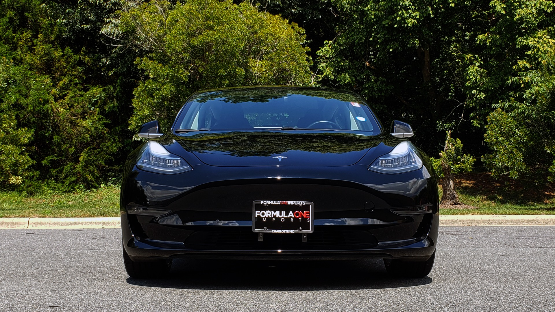 Used 2018 Tesla MODEL 3 LONG RANGE BATTERY / NAV / GLASS ROOF / REARVIEW for sale Sold at Formula Imports in Charlotte NC 28227 16