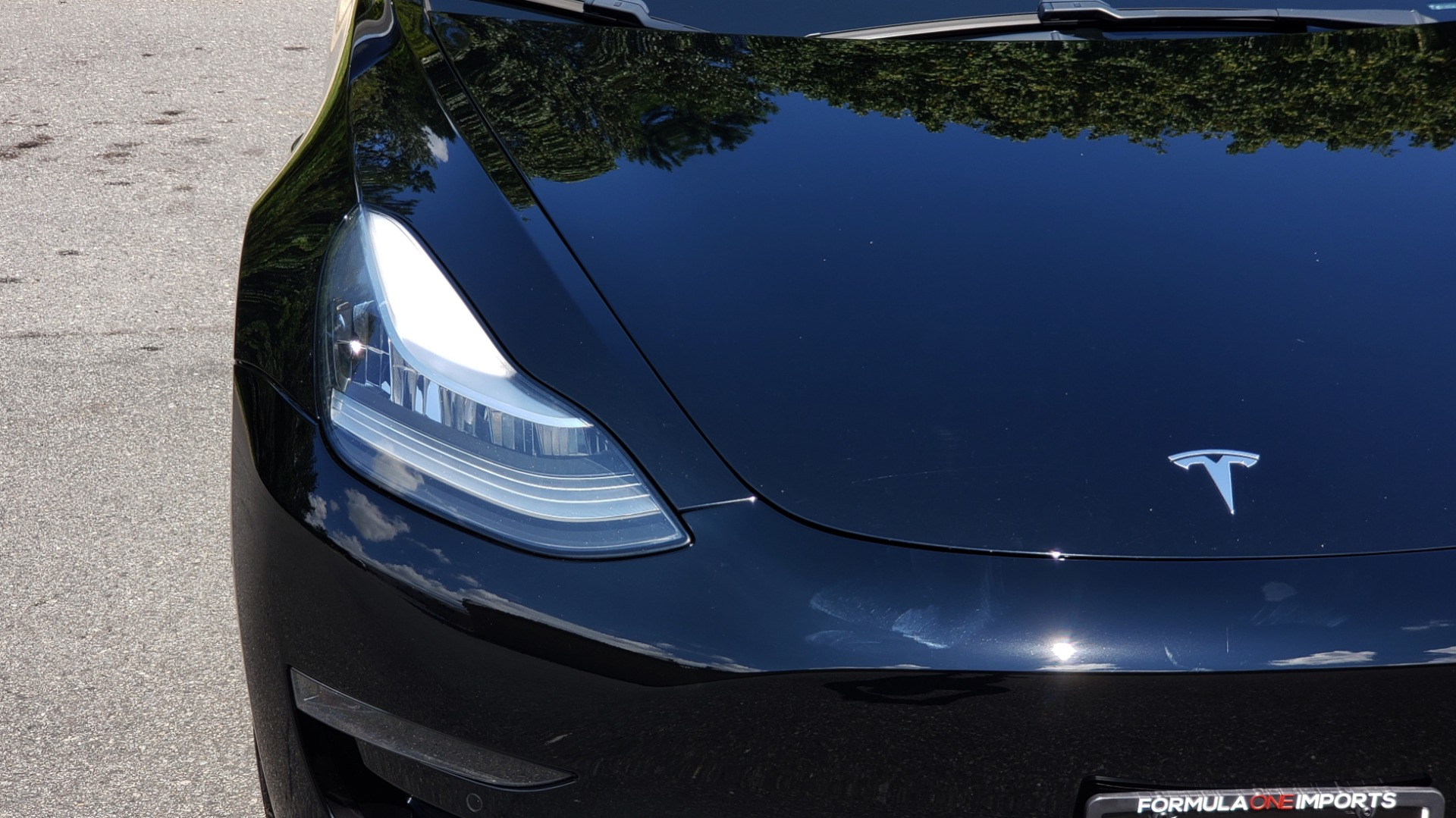 Used 2018 Tesla MODEL 3 LONG RANGE BATTERY / NAV / GLASS ROOF / REARVIEW for sale Sold at Formula Imports in Charlotte NC 28227 17