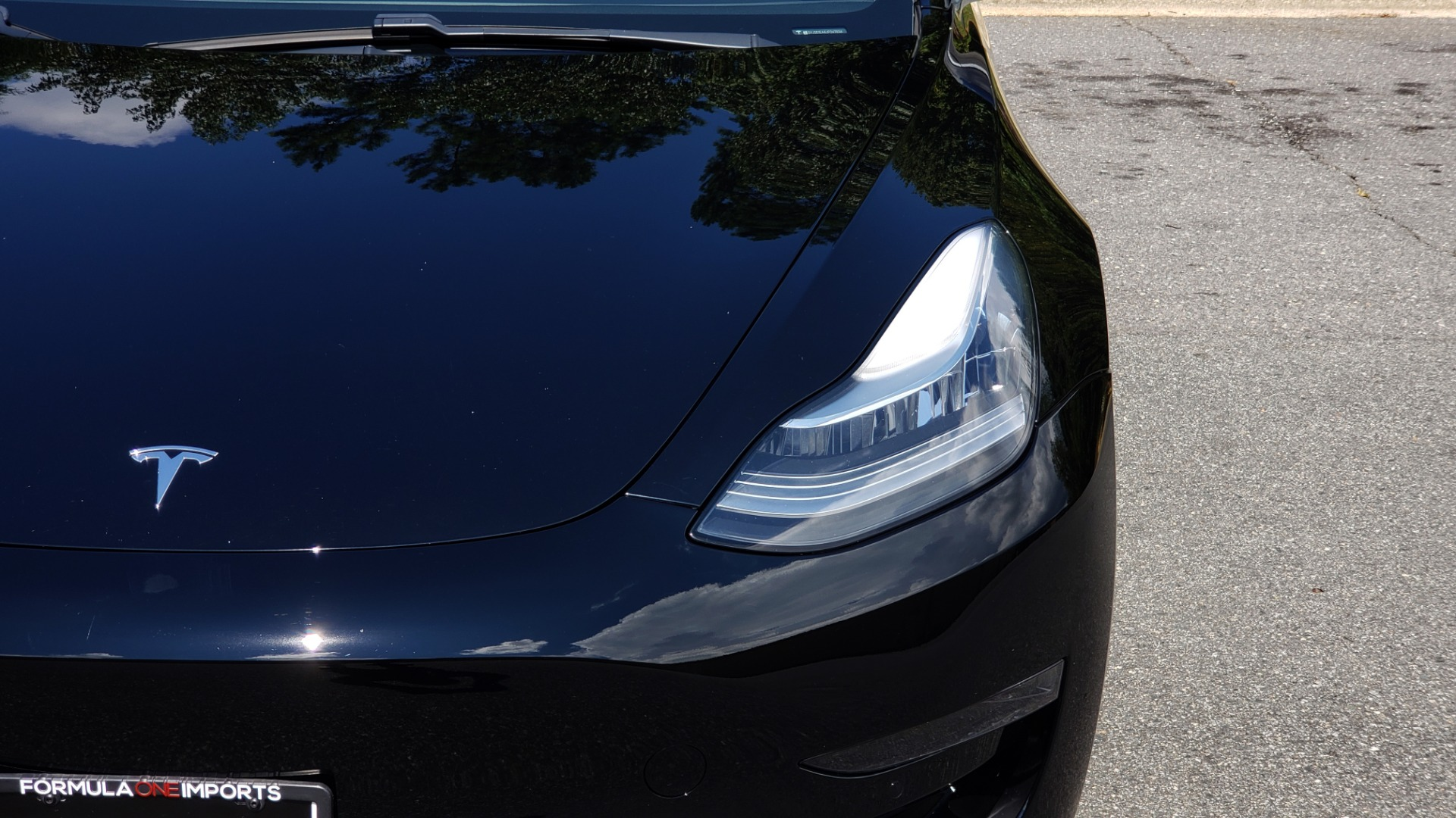 Used 2018 Tesla MODEL 3 LONG RANGE BATTERY / NAV / GLASS ROOF / REARVIEW for sale Sold at Formula Imports in Charlotte NC 28227 18