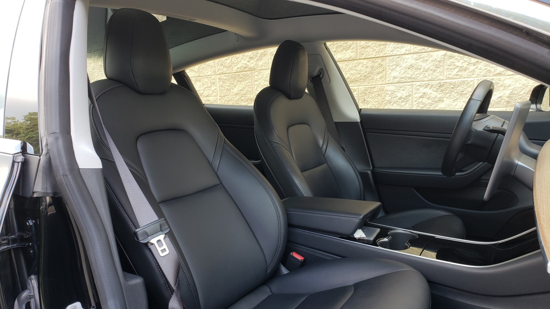 Used 2018 Tesla MODEL 3 LONG RANGE BATTERY / NAV / GLASS ROOF / REARVIEW for sale Sold at Formula Imports in Charlotte NC 28227 57