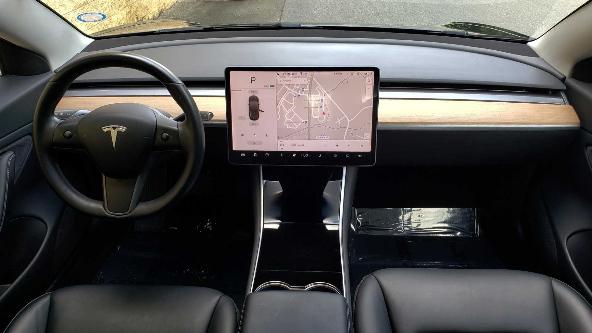 Used 2018 Tesla MODEL 3 LONG RANGE BATTERY / NAV / GLASS ROOF / REARVIEW for sale Sold at Formula Imports in Charlotte NC 28227 68
