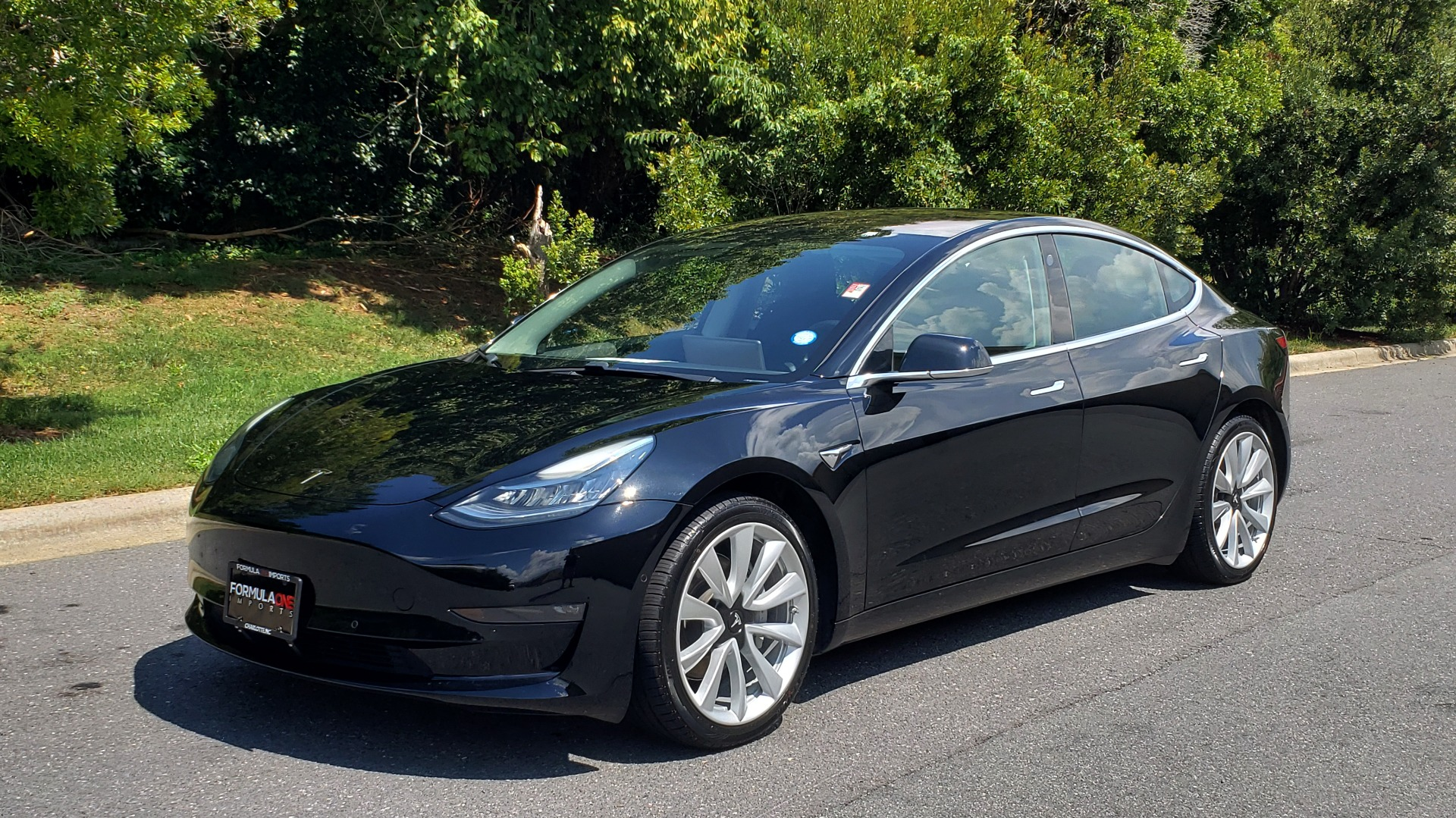 Used 2018 Tesla MODEL 3 LONG RANGE BATTERY / NAV / GLASS ROOF / REARVIEW for sale Sold at Formula Imports in Charlotte NC 28227 1