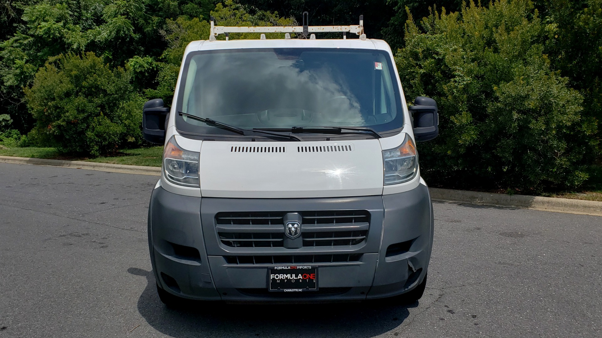 Used 2015 Ram PROMASTER CARGO VAN 1500 / LOW ROOF / 136IN WB / ROOF RACK / 1-OWNER for sale Sold at Formula Imports in Charlotte NC 28227 12
