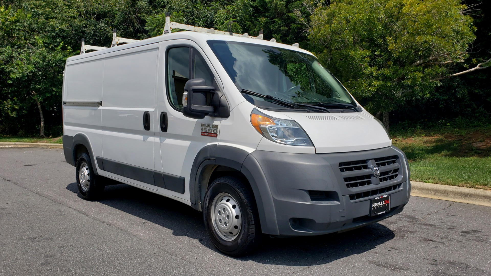 Used 2015 Ram PROMASTER CARGO VAN 1500 / LOW ROOF / 136IN WB / ROOF RACK / 1-OWNER for sale Sold at Formula Imports in Charlotte NC 28227 7