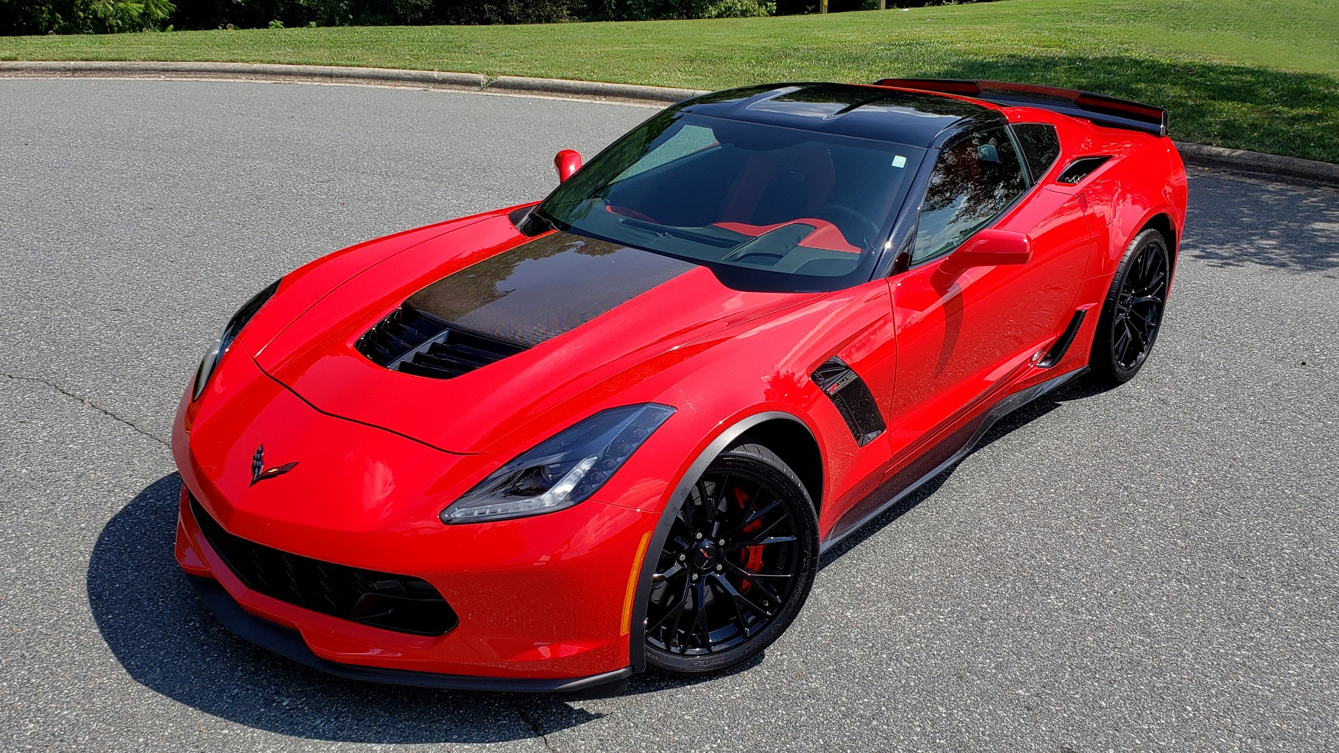 Used 2016 Chevrolet CORVETTE Z06 3LZ / 6.2L SUPERCHARGED 650HP / NAV / BOSE / REARVIEW for sale Sold at Formula Imports in Charlotte NC 28227 2