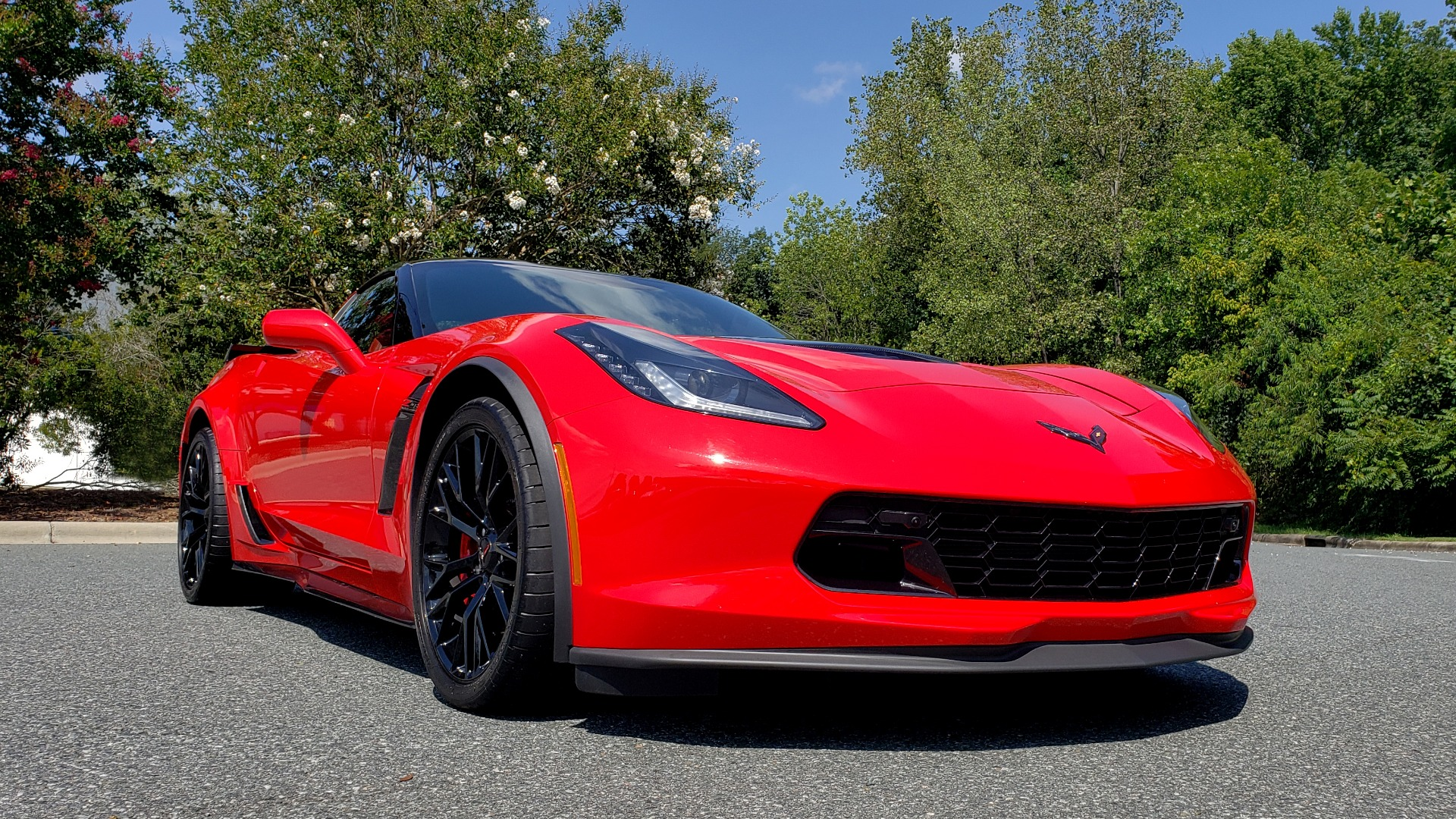 Used 2016 Chevrolet CORVETTE Z06 3LZ / 6.2L SUPERCHARGED 650HP / NAV / BOSE / REARVIEW for sale Sold at Formula Imports in Charlotte NC 28227 4