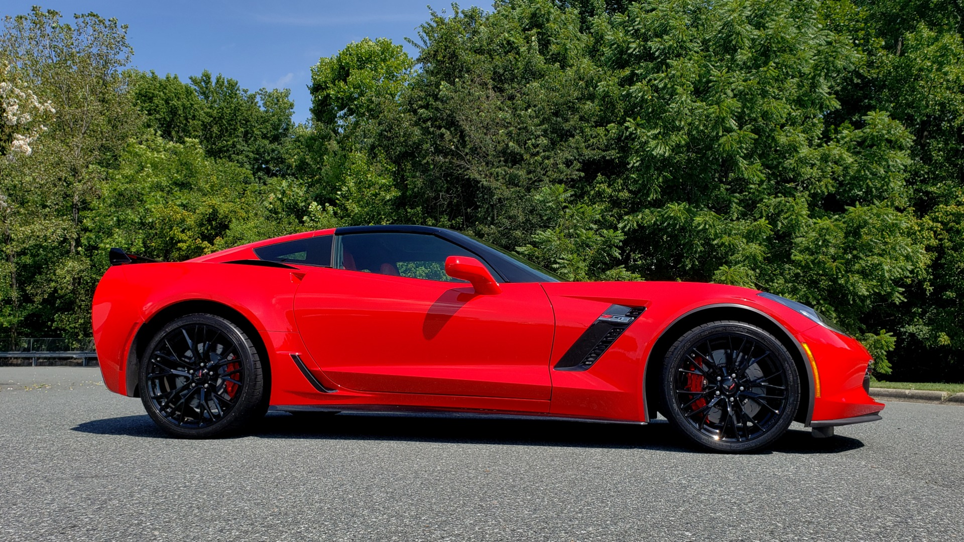 Used 2016 Chevrolet CORVETTE Z06 3LZ / 6.2L SUPERCHARGED 650HP / NAV / BOSE / REARVIEW for sale Sold at Formula Imports in Charlotte NC 28227 5