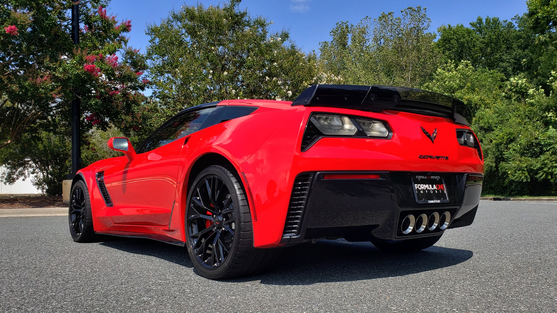 Used 2016 Chevrolet CORVETTE Z06 3LZ / 6.2L SUPERCHARGED 650HP / NAV / BOSE / REARVIEW for sale Sold at Formula Imports in Charlotte NC 28227 7