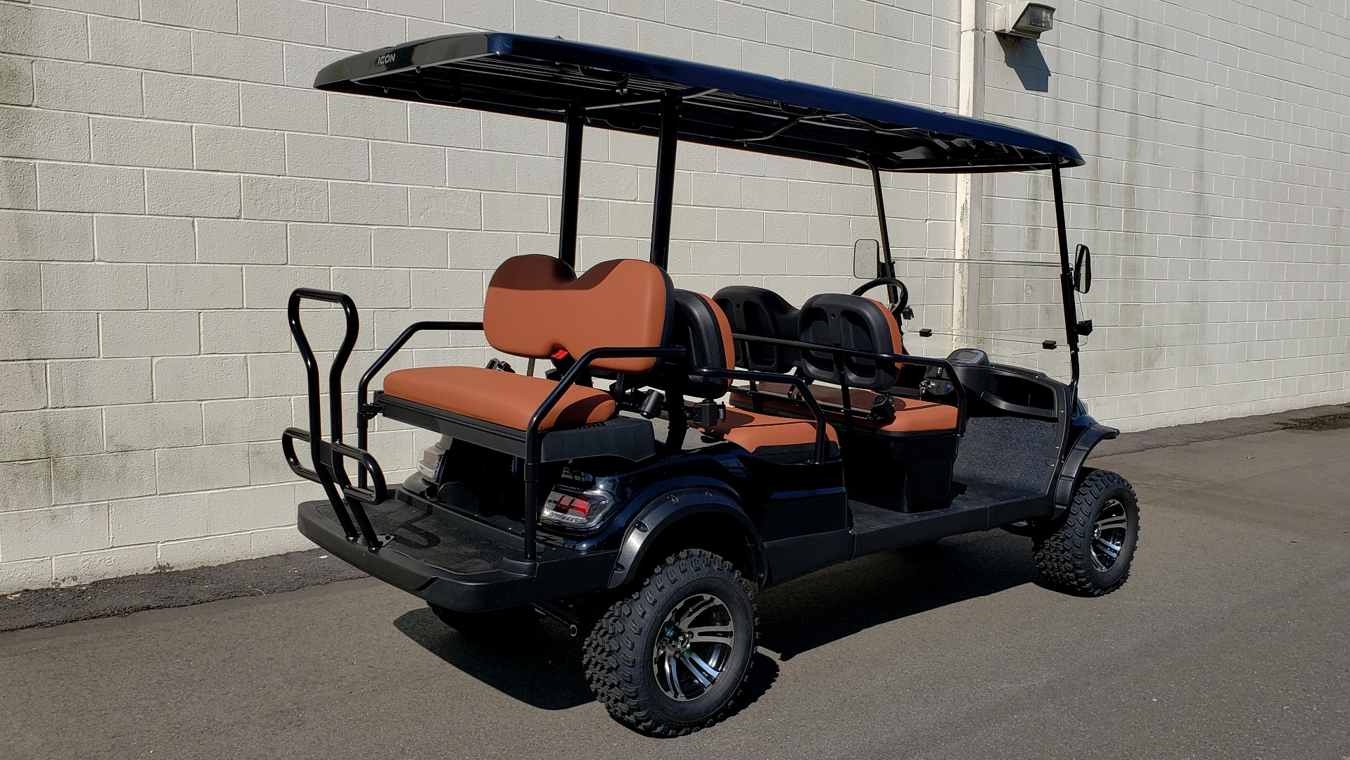 Used 2020 ICON I60L ELECTRIC CAR / 3-ROW / LIFTED / GOLF CART / SPEEDO for sale Sold at Formula Imports in Charlotte NC 28227 21
