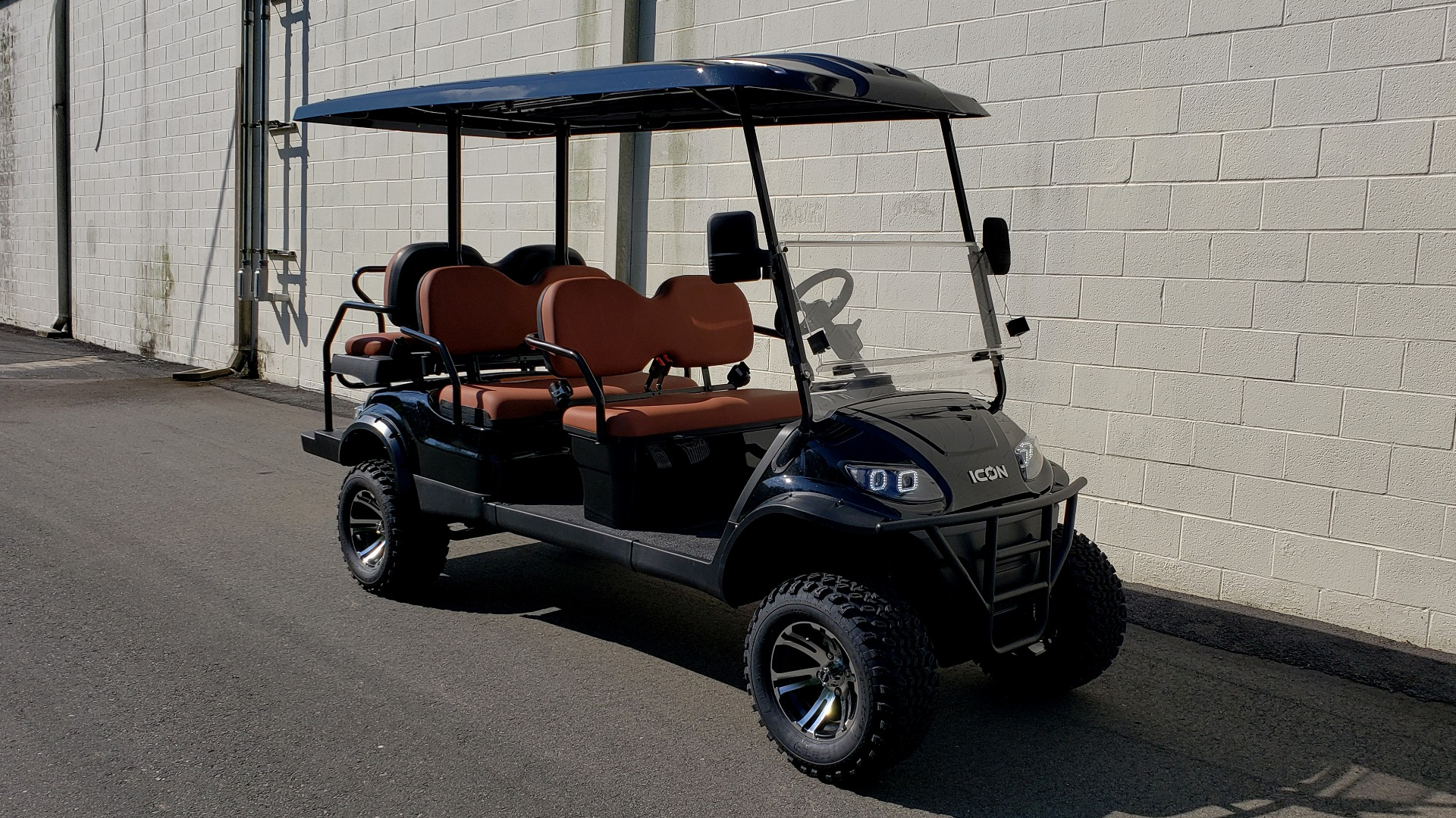 Used 2020 ICON I60L ELECTRIC CAR / 3-ROW / LIFTED / GOLF CART / SPEEDO for sale Sold at Formula Imports in Charlotte NC 28227 23