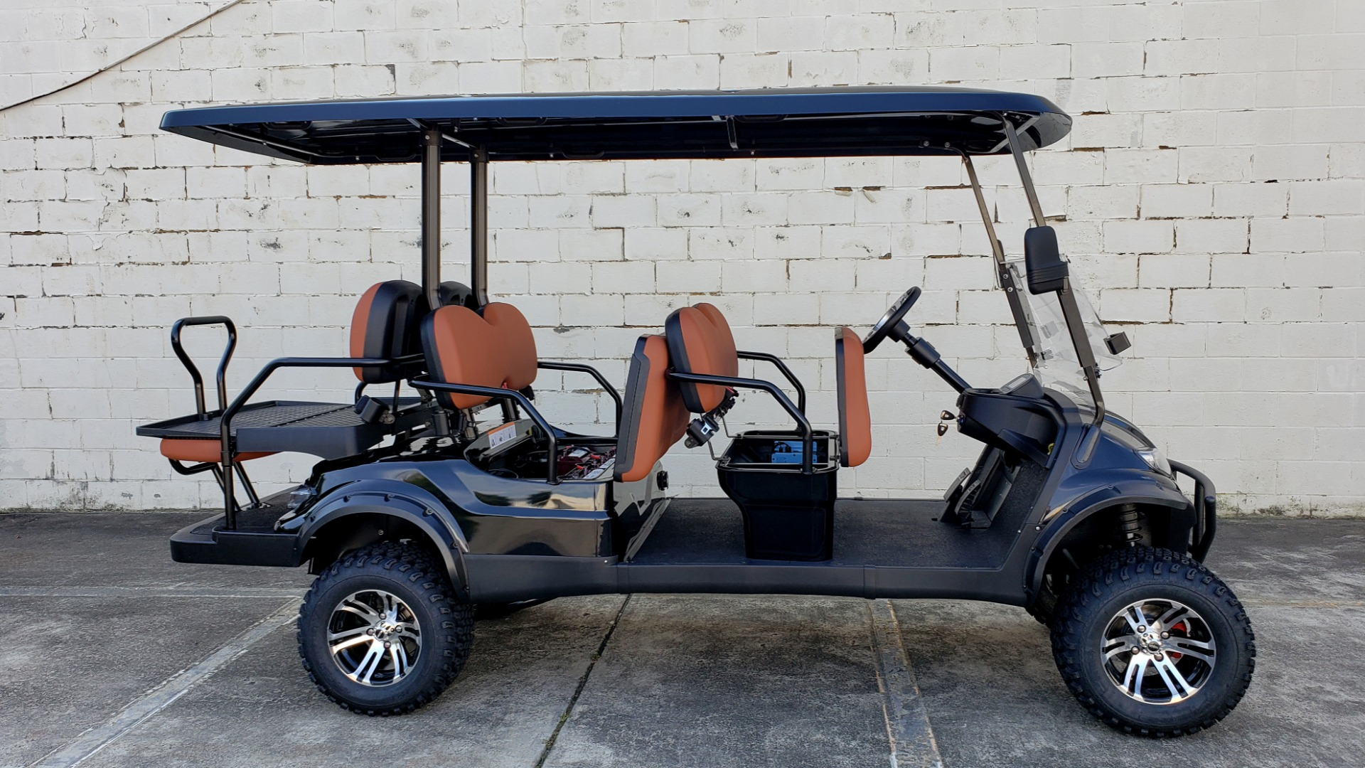 Used 2020 ICON I60L ELECTRIC CAR / 3-ROW / LIFTED / GOLF CART / SPEEDO for sale Sold at Formula Imports in Charlotte NC 28227 46