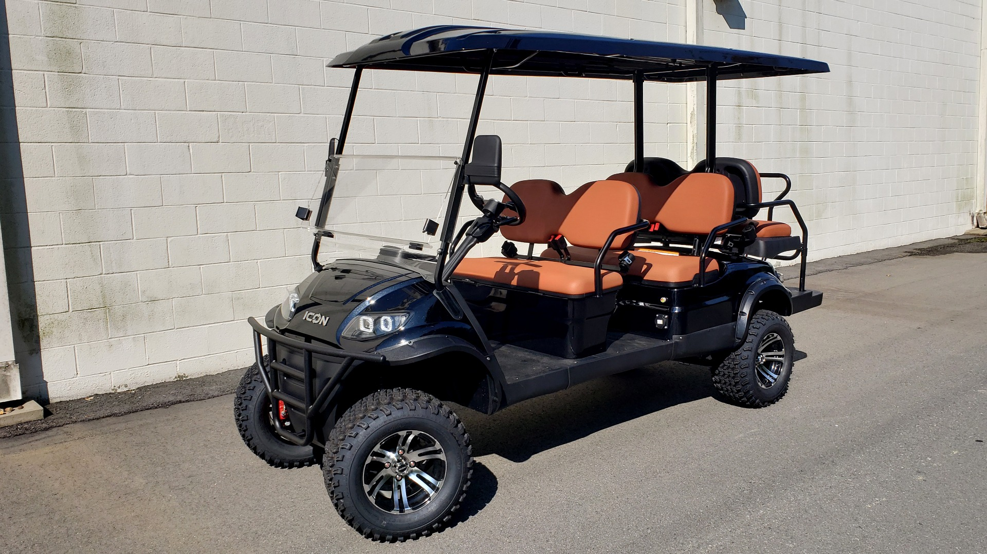 Used 2020 ICON I60L ELECTRIC CAR / 3-ROW / LIFTED / GOLF CART / SPEEDO for sale Sold at Formula Imports in Charlotte NC 28227 1