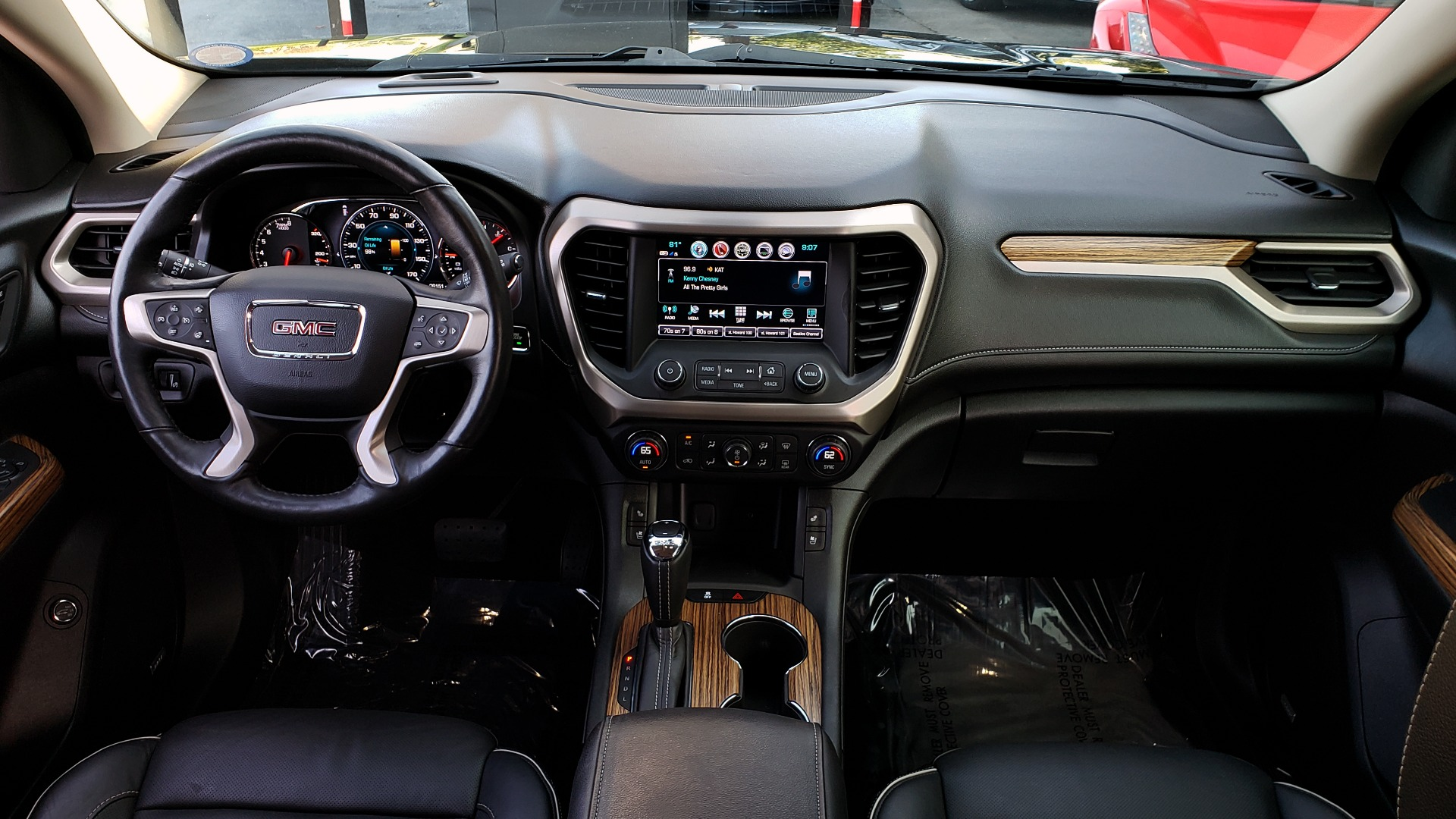 Used 2017 GMC ACADIA DENALI / FWD / NAV / SUNROOF / CAMERA / 3-ROW for sale Sold at Formula Imports in Charlotte NC 28227 83