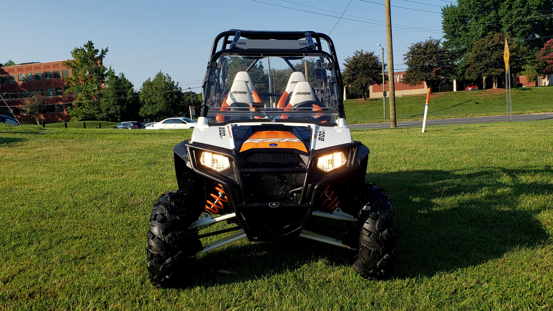 Used 2012 POLARIS RANGER RZR4 / HO 800 EFI / IPHONE CONNECT / SPEAKERS / NEW TIRES for sale Sold at Formula Imports in Charlotte NC 28227 13